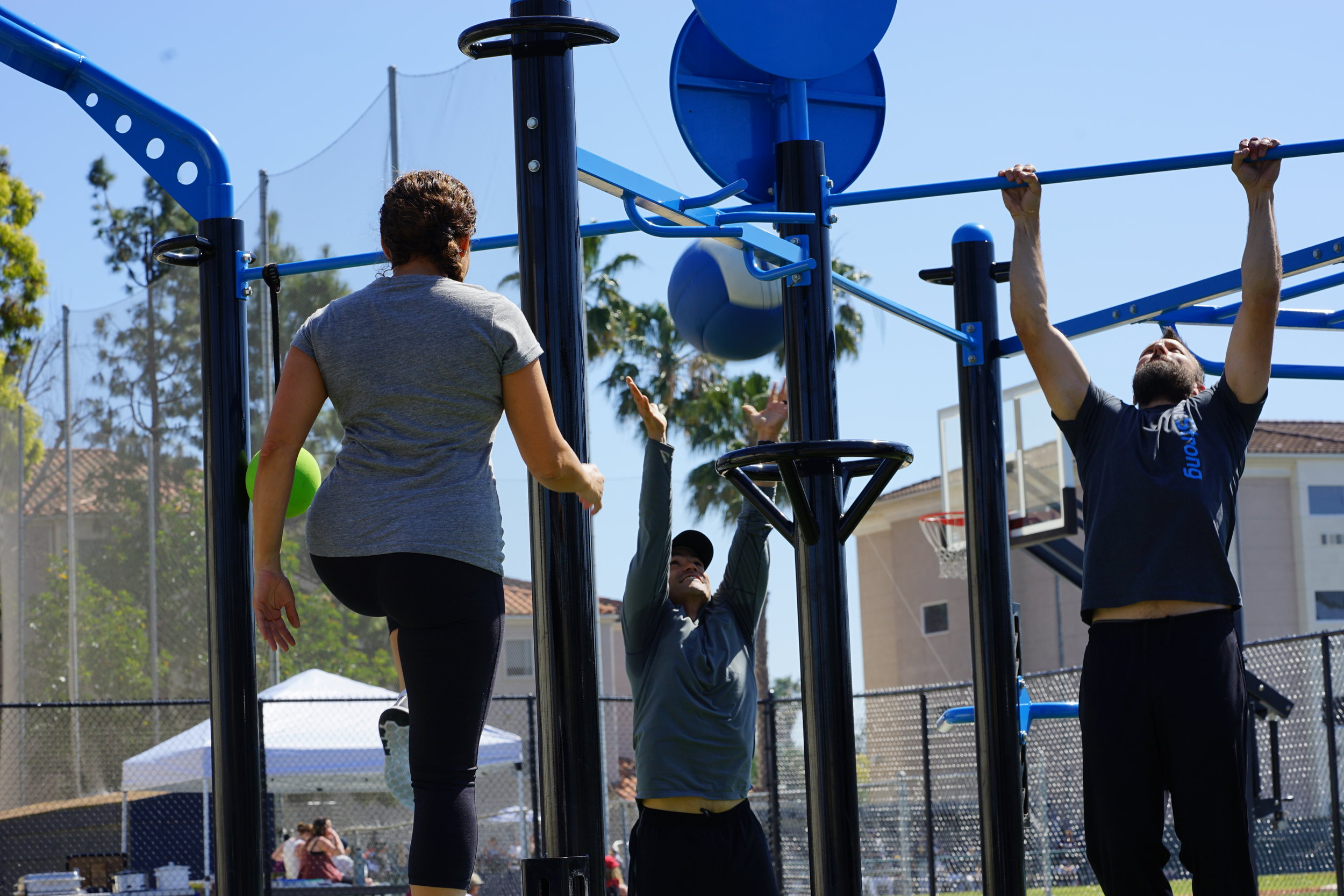 Team workout for functional fitness