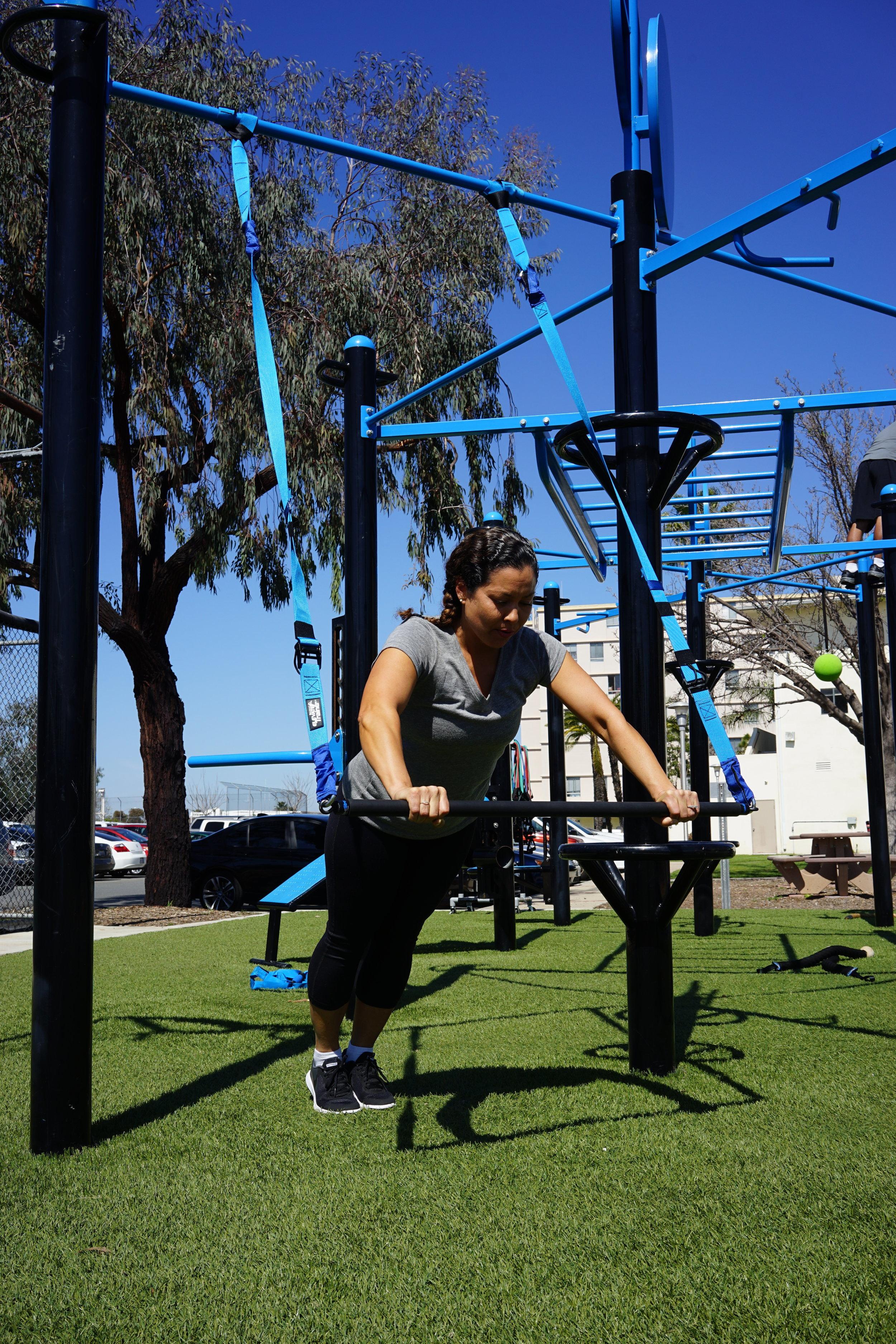 Suspension bar Elevate Trainer