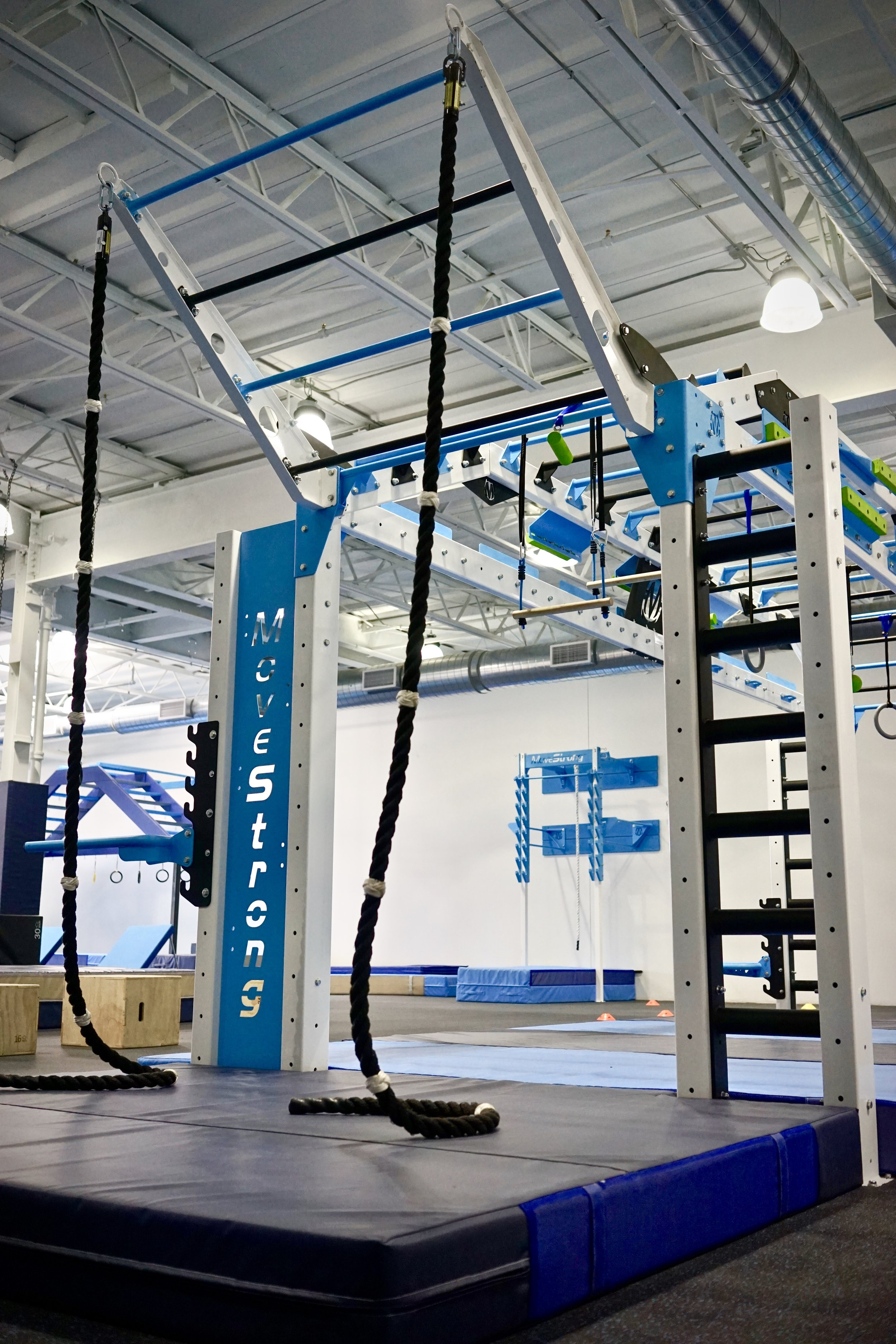 Copy of Climbing ropes fitness ninja warrior training