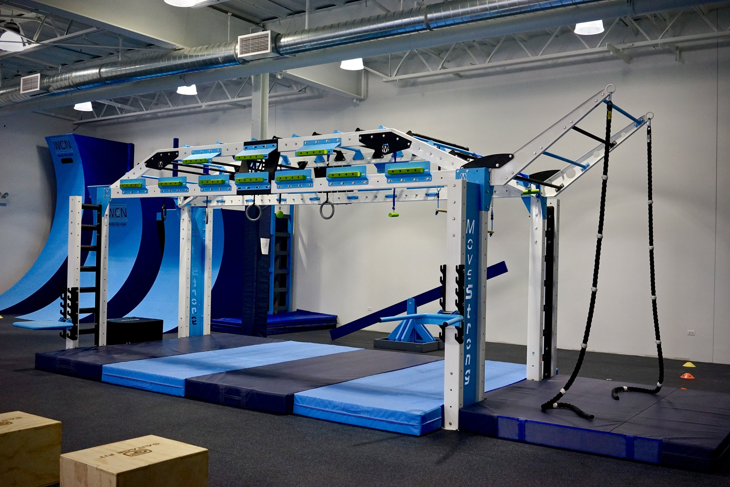 Copy of MoveStrong fitness rack for Ninja Warrior training