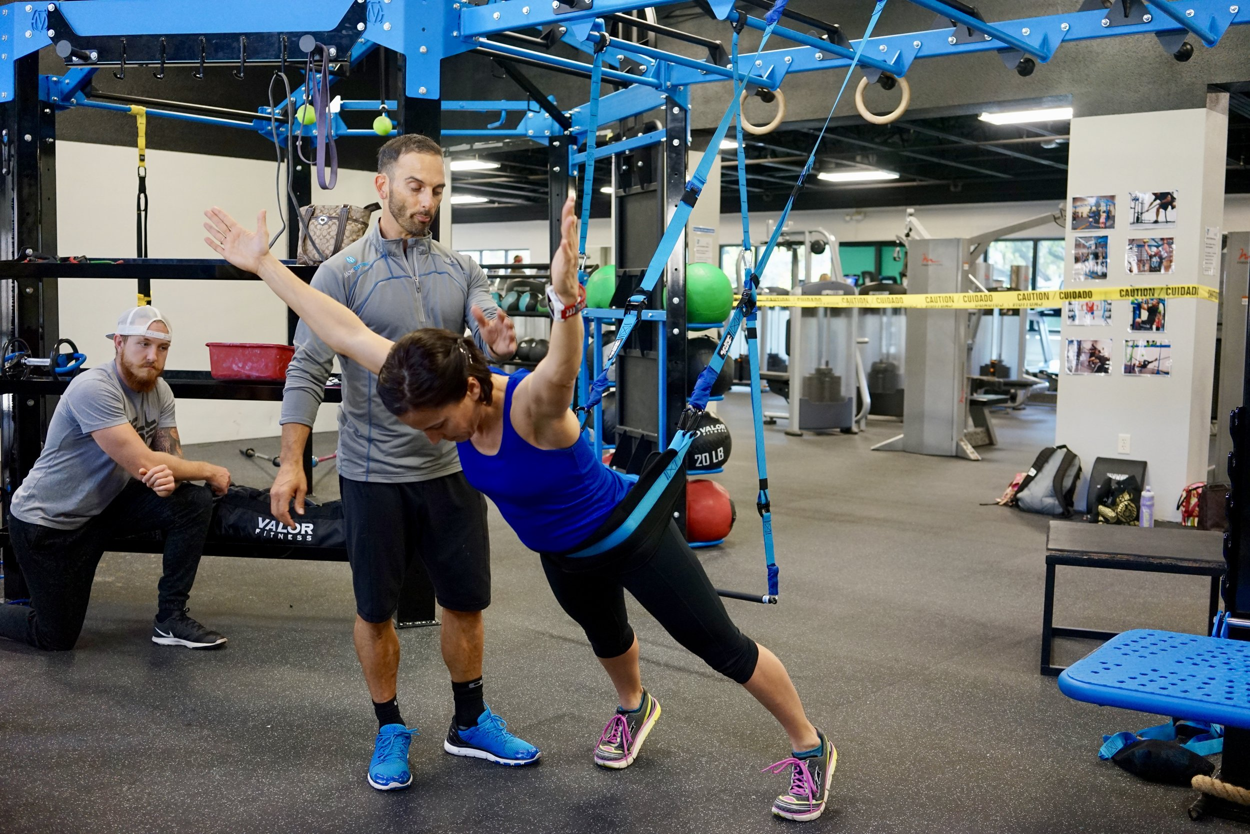 Elevate Trainer back extension Y reach