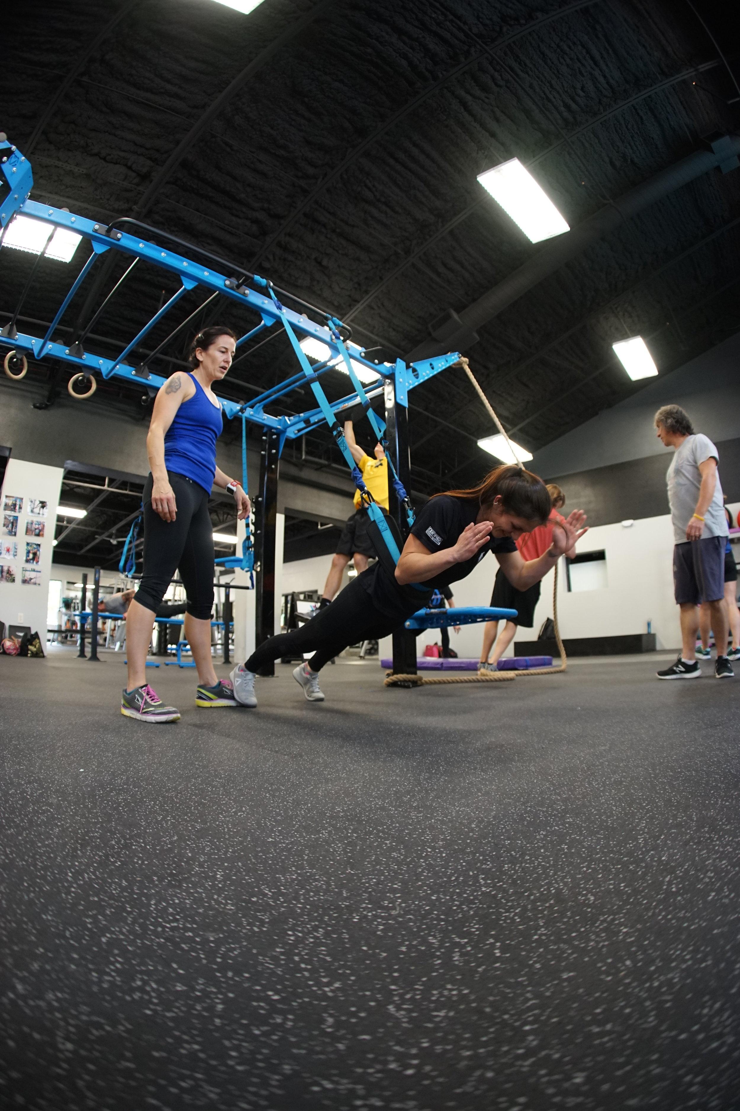 Elevate Trainer exercise
