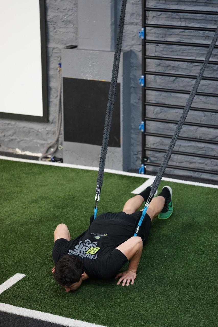 Assisted push ups