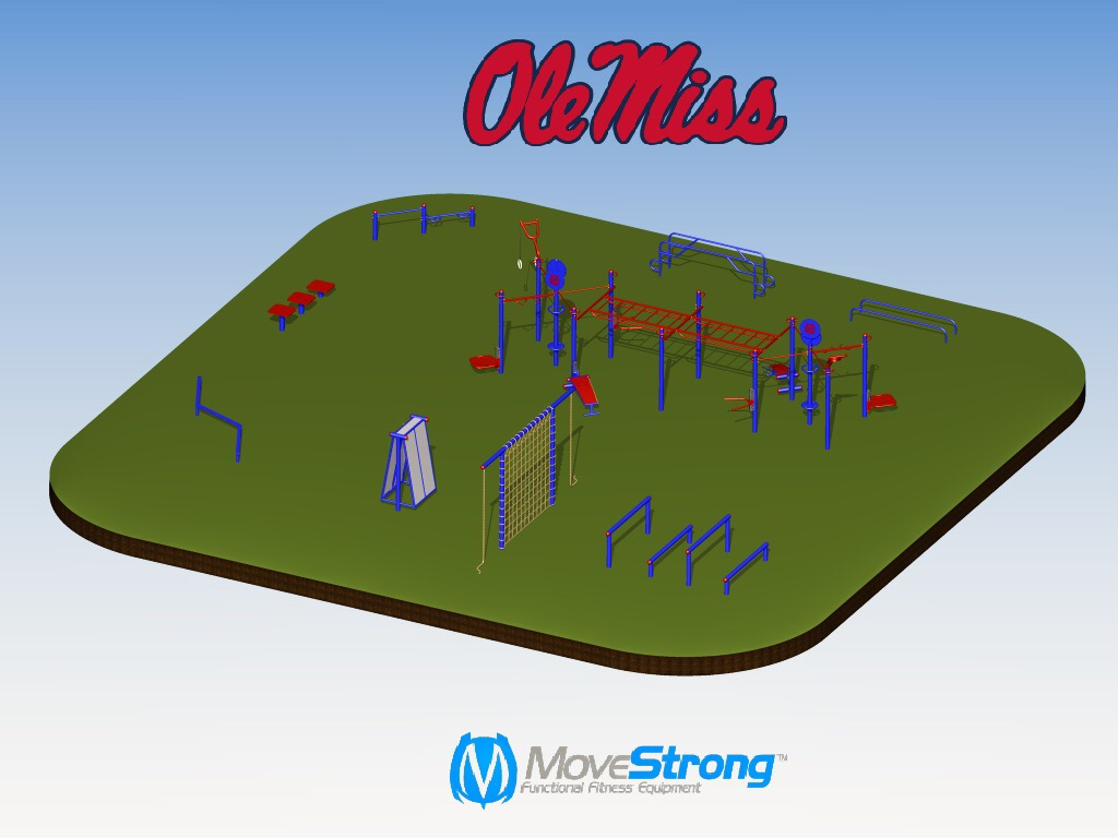 Outdoor Calisthenics and Obstacle Course