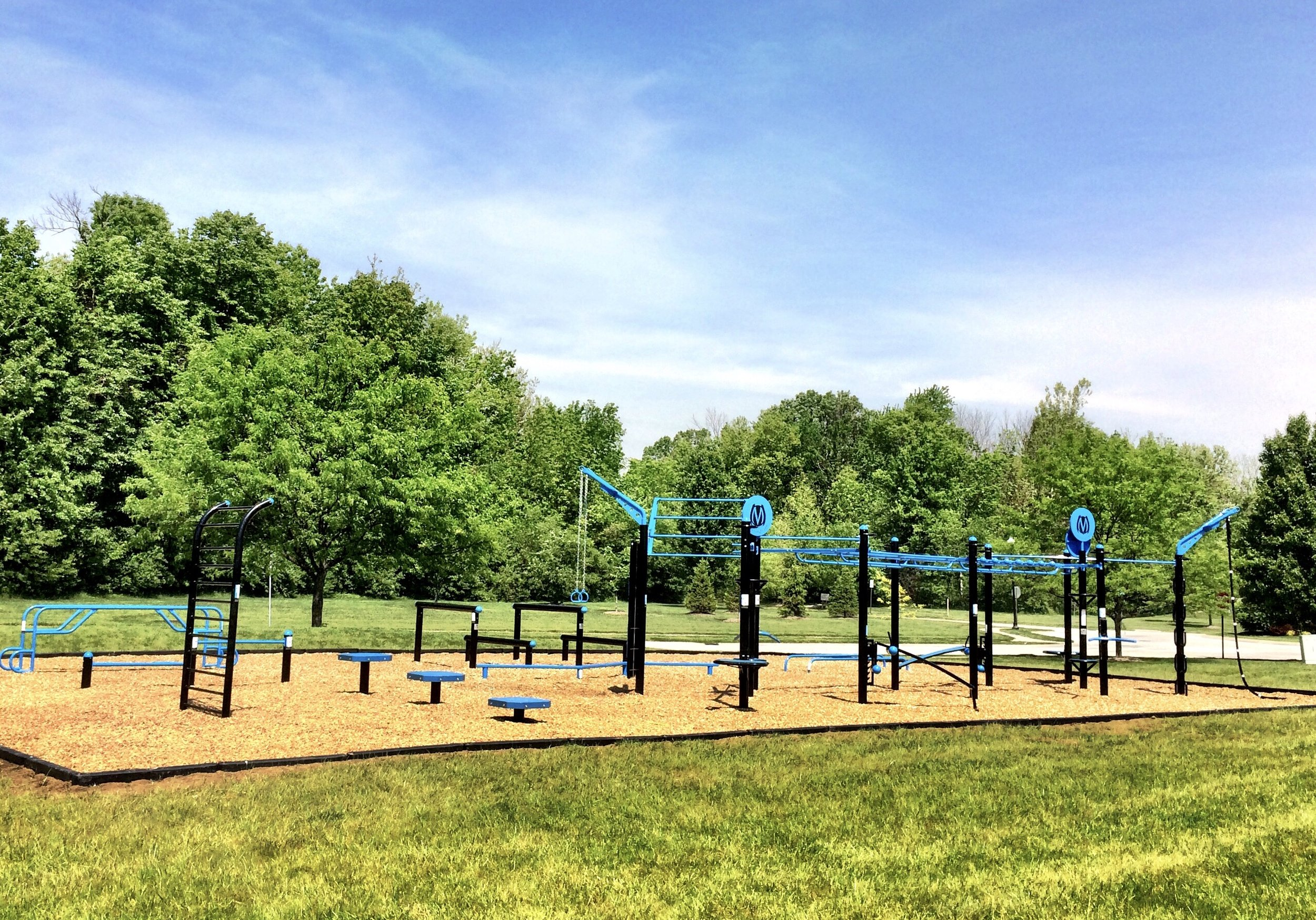 Fitness Park for residence of Eagle Point HOA