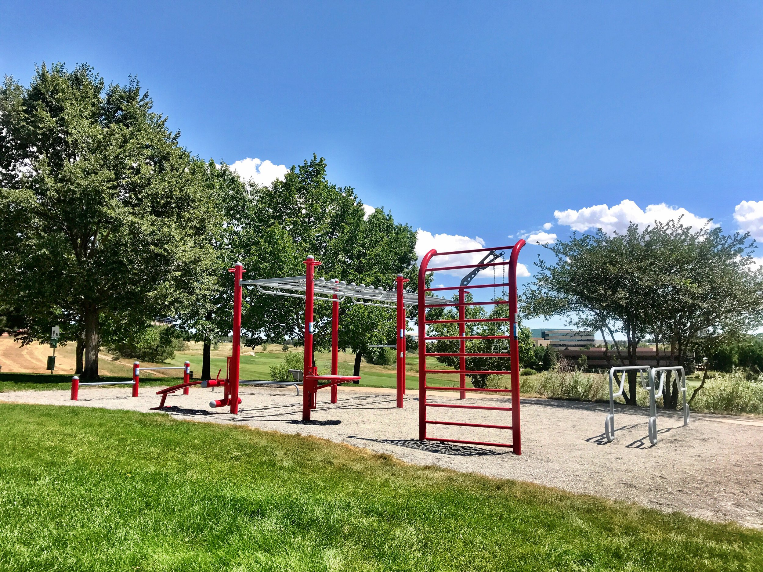 Fitness Park for outdoor exercise