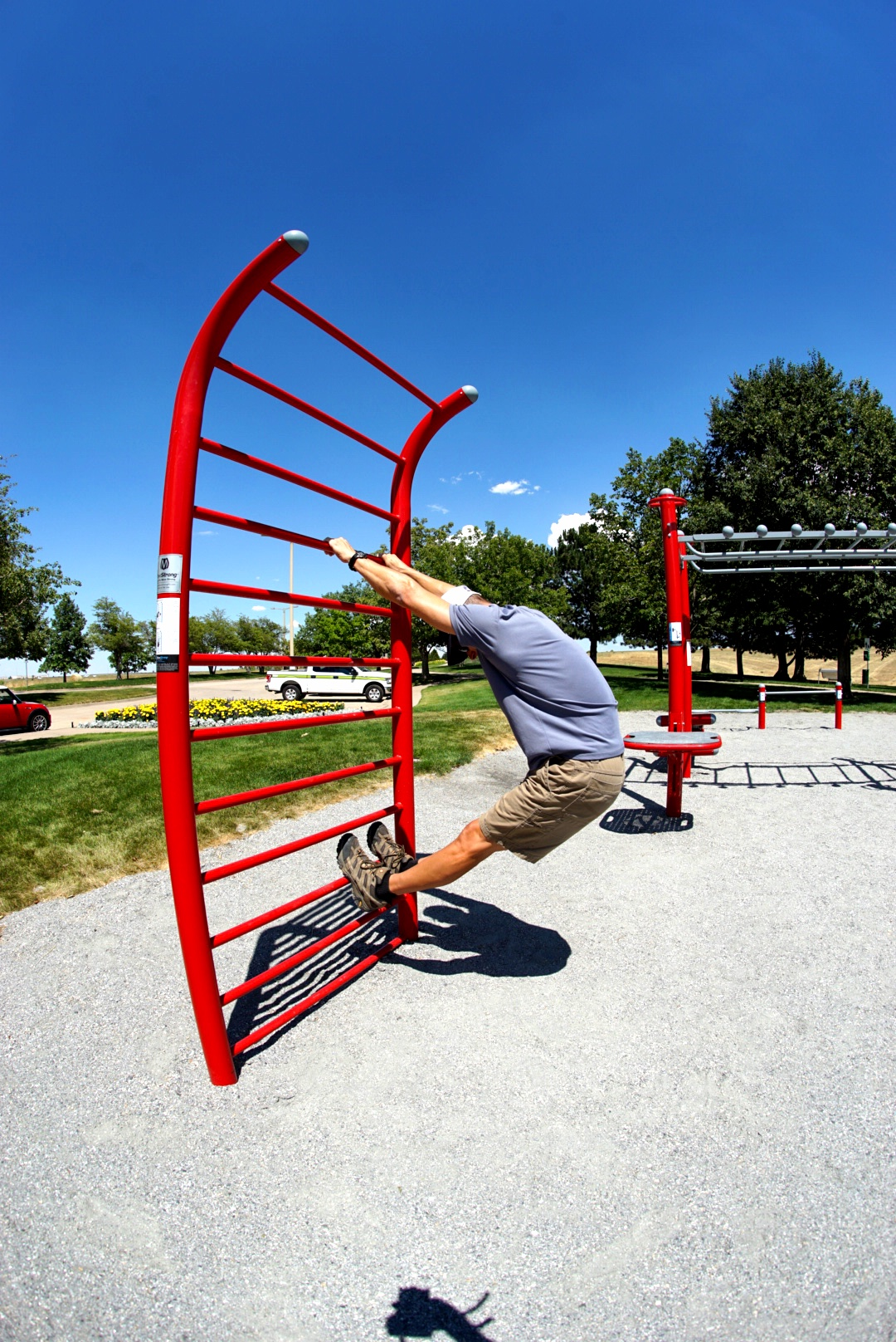 Outdoor Stall Bars for stretching