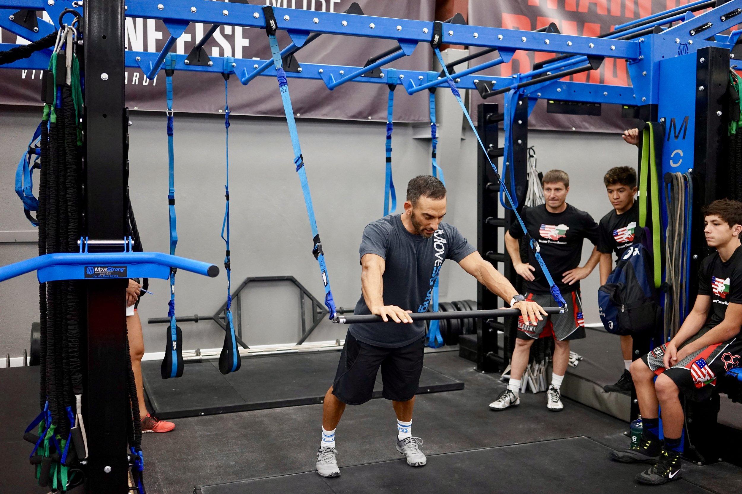 Elevate suspension trainer bar