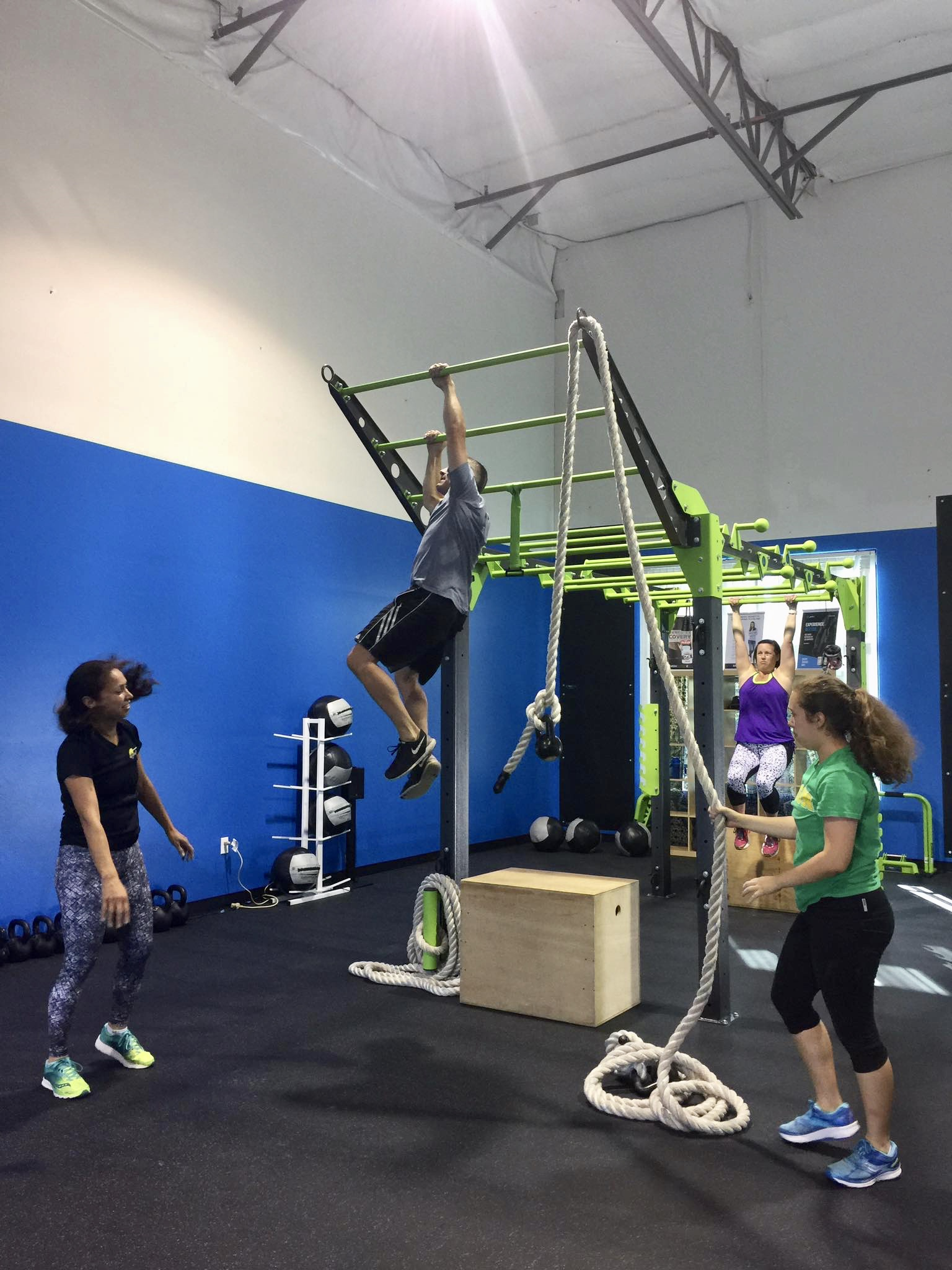 Group training on MoveSTrong