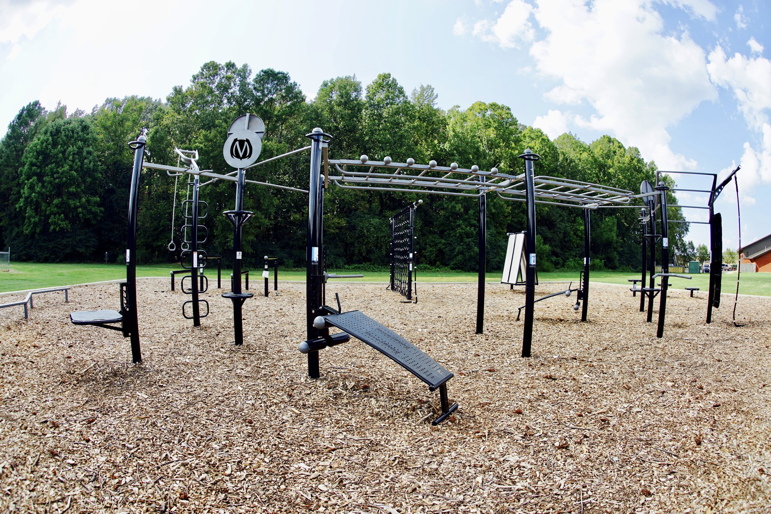 All-in-One Outdoor Multi-station Gym