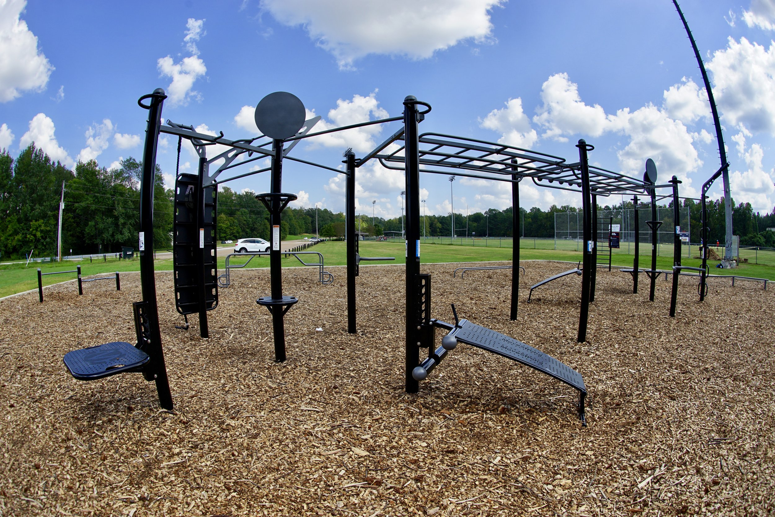 Outdoor Fitness for Group Functional Fitness