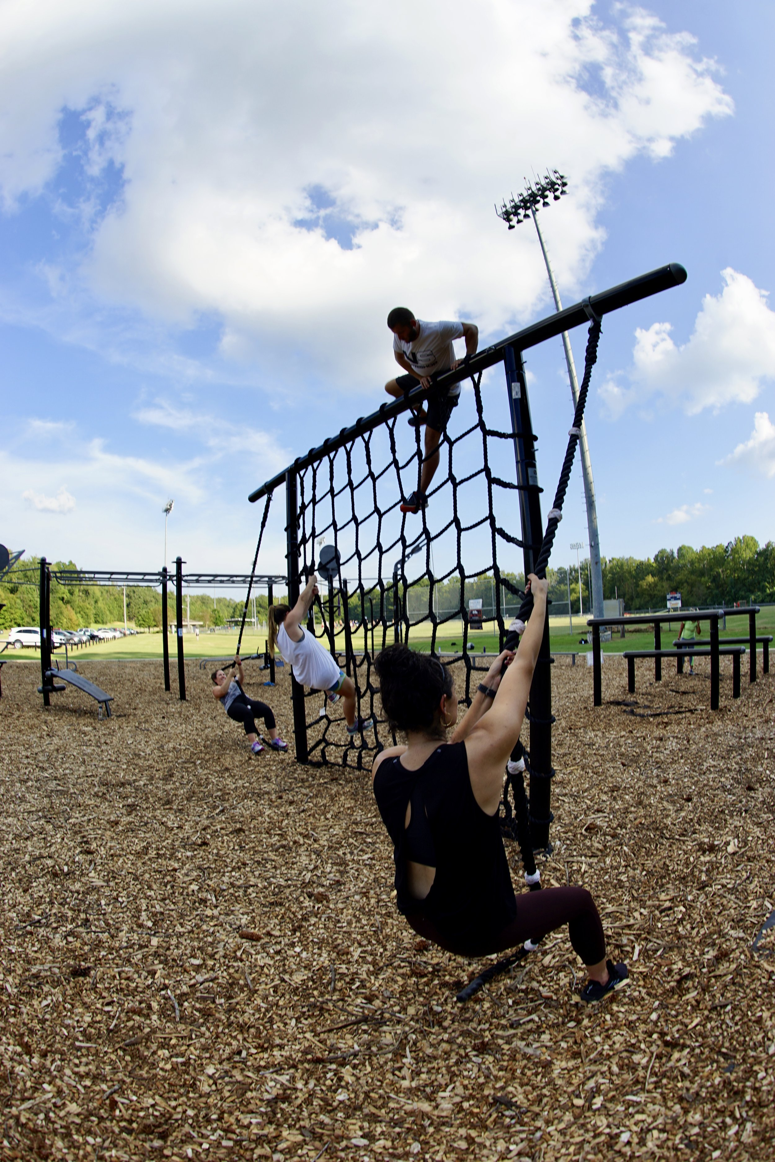 Cargonet for Obstacle Course Training