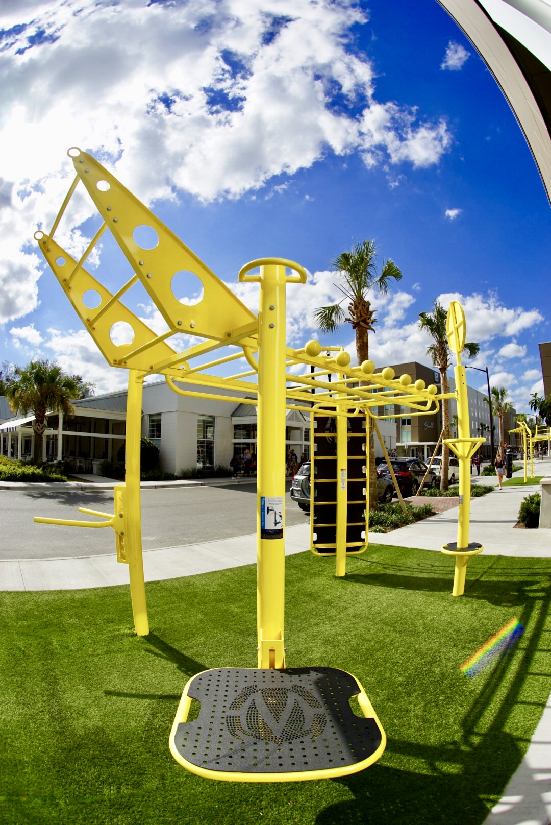 Custom Outdoor Fitness Equipment