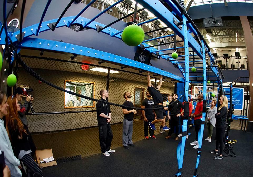 Ring toss exercise on MoveStrong