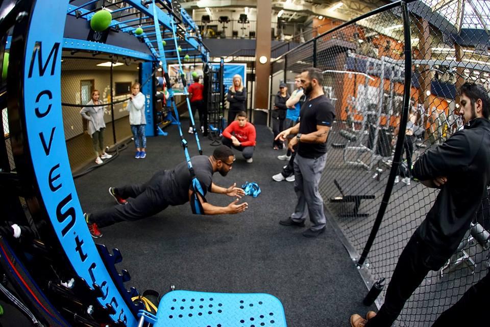 Elevate Trainer belt plank