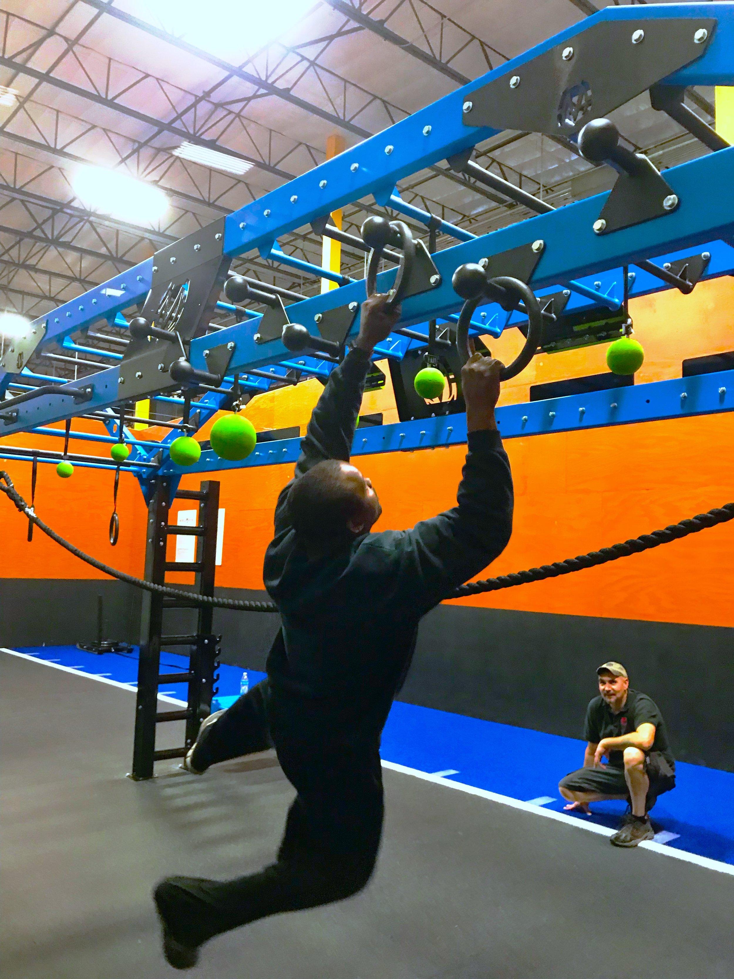 Ring toss exercise on Nova XL