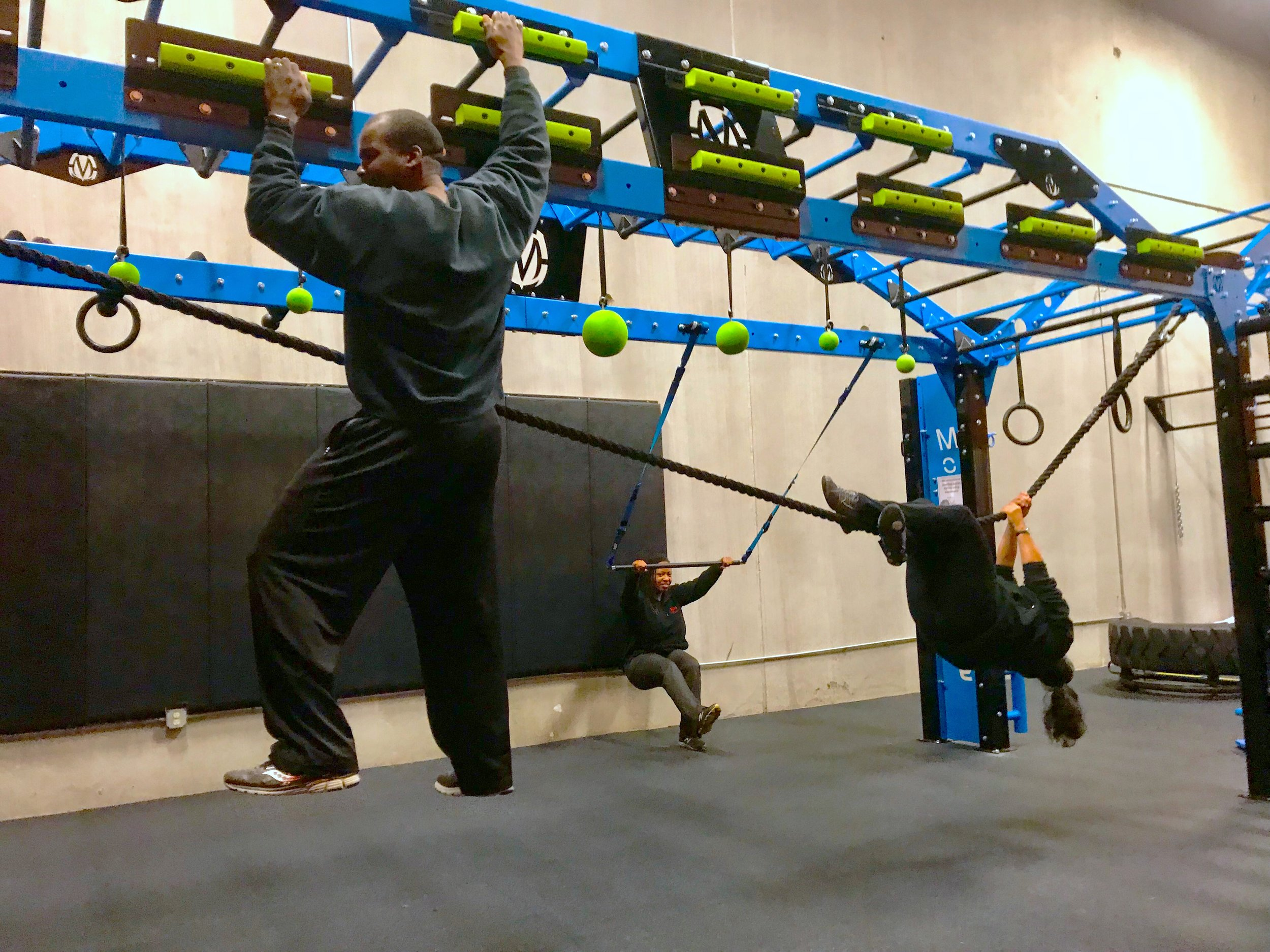Group functional fitness workout