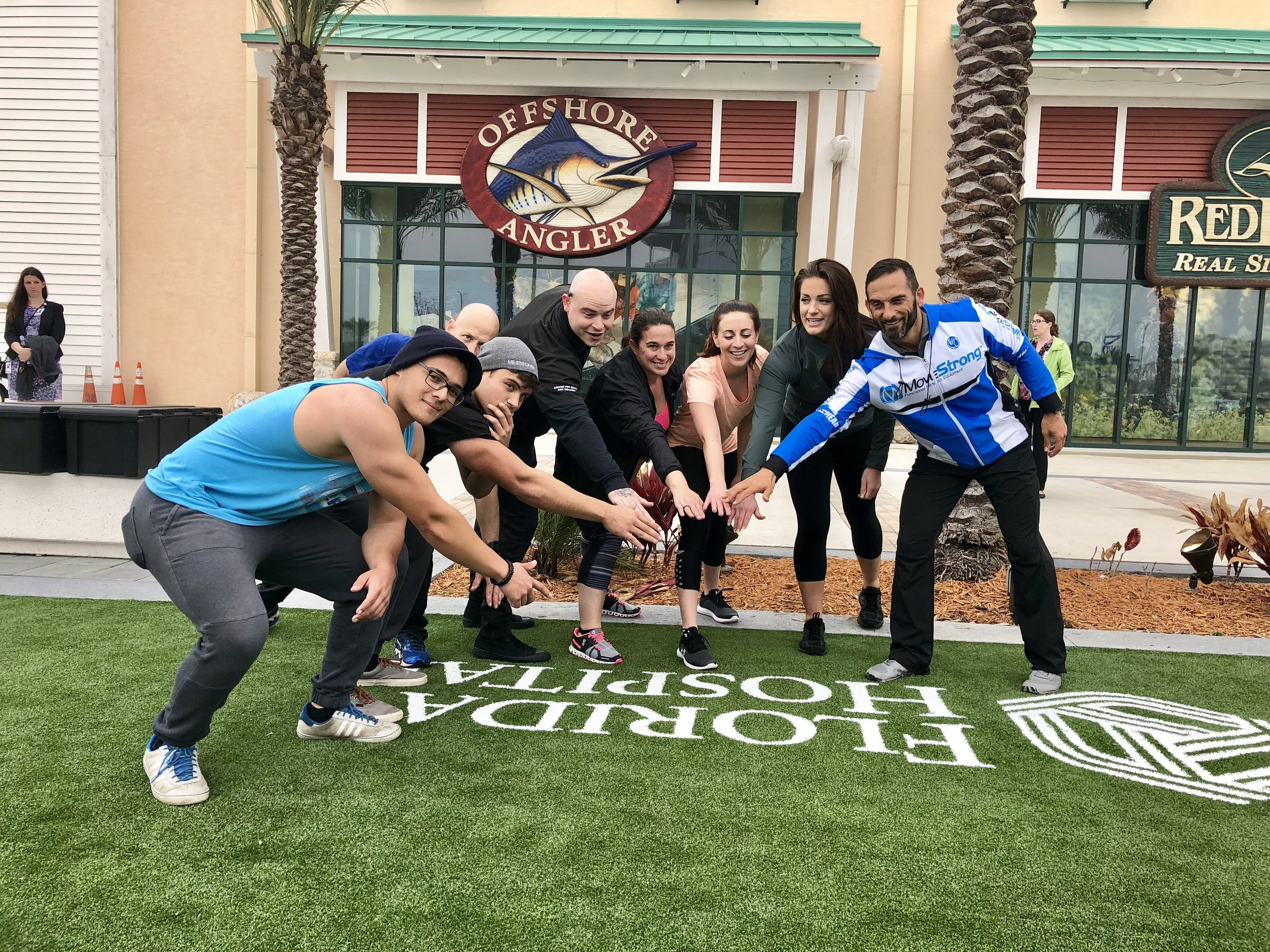 Florida Hostpial Fitness Staff