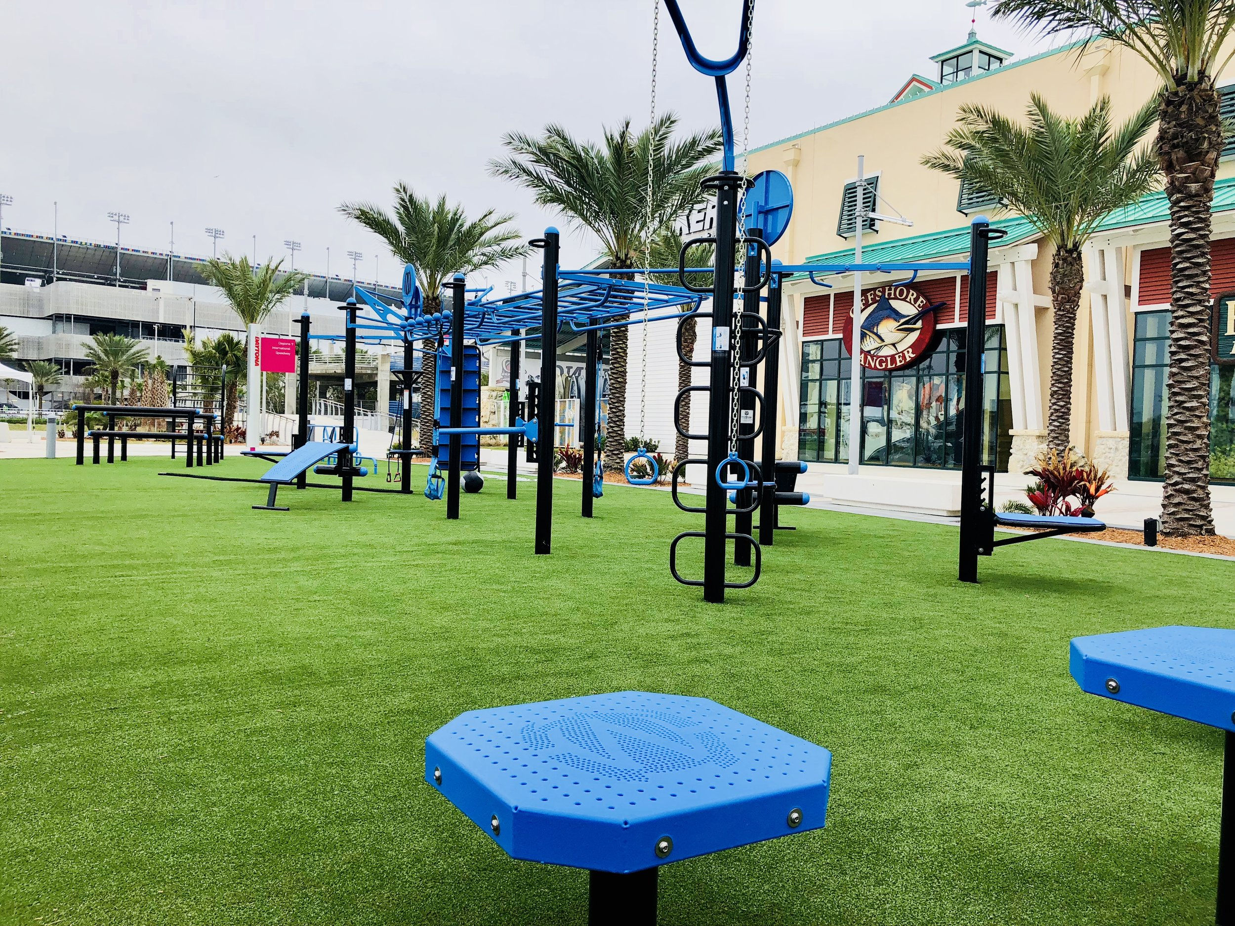 Outdoor Functional Fitness
