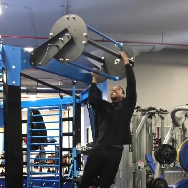 The Revolving pullup bar