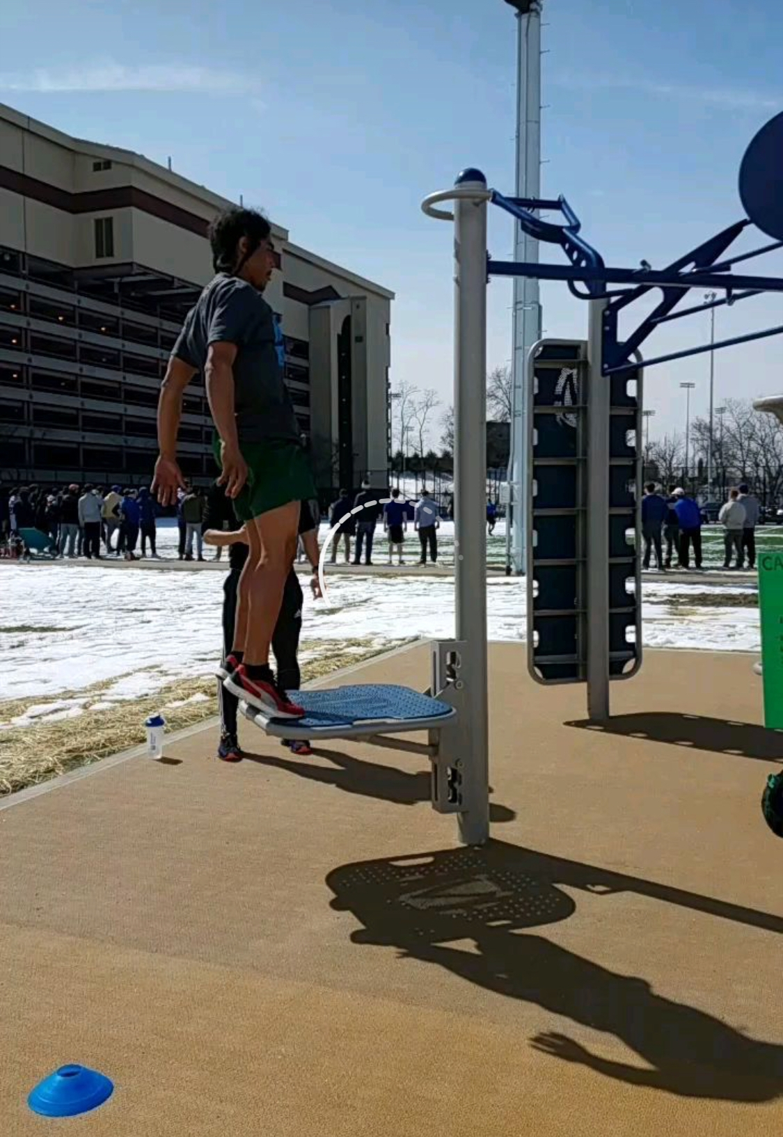 Plyo-jump obstacle