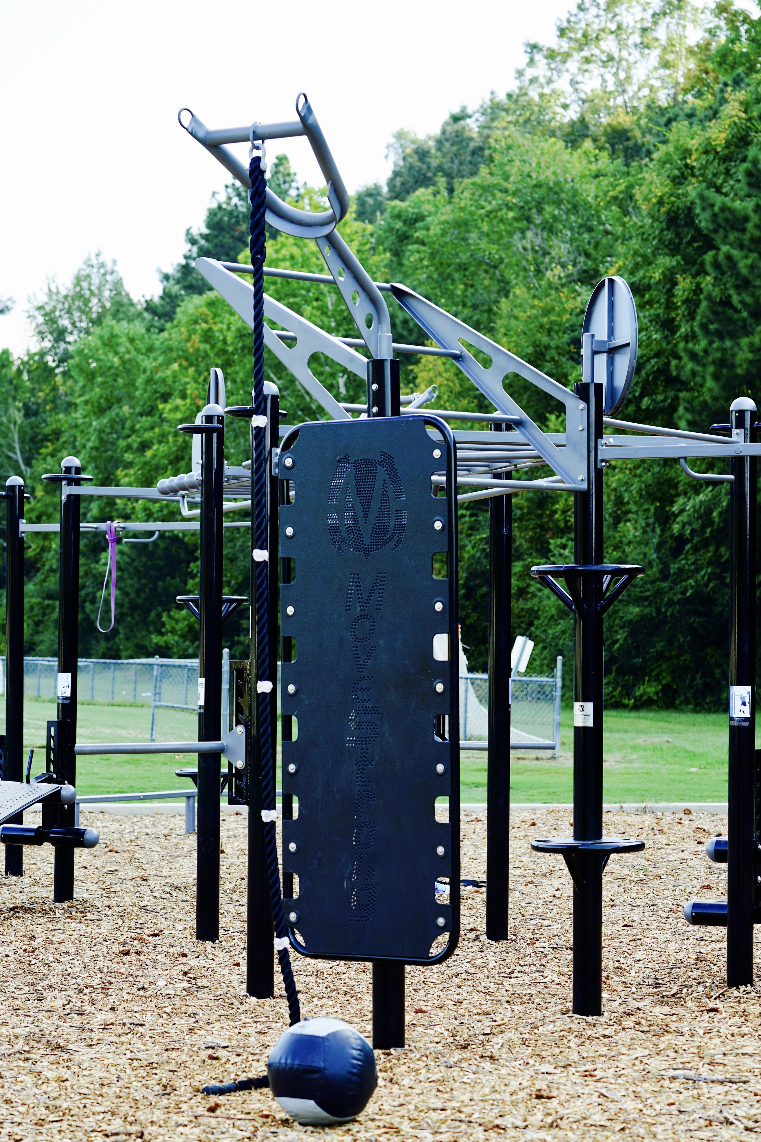 Kickplate Feature Outdoor Fitness