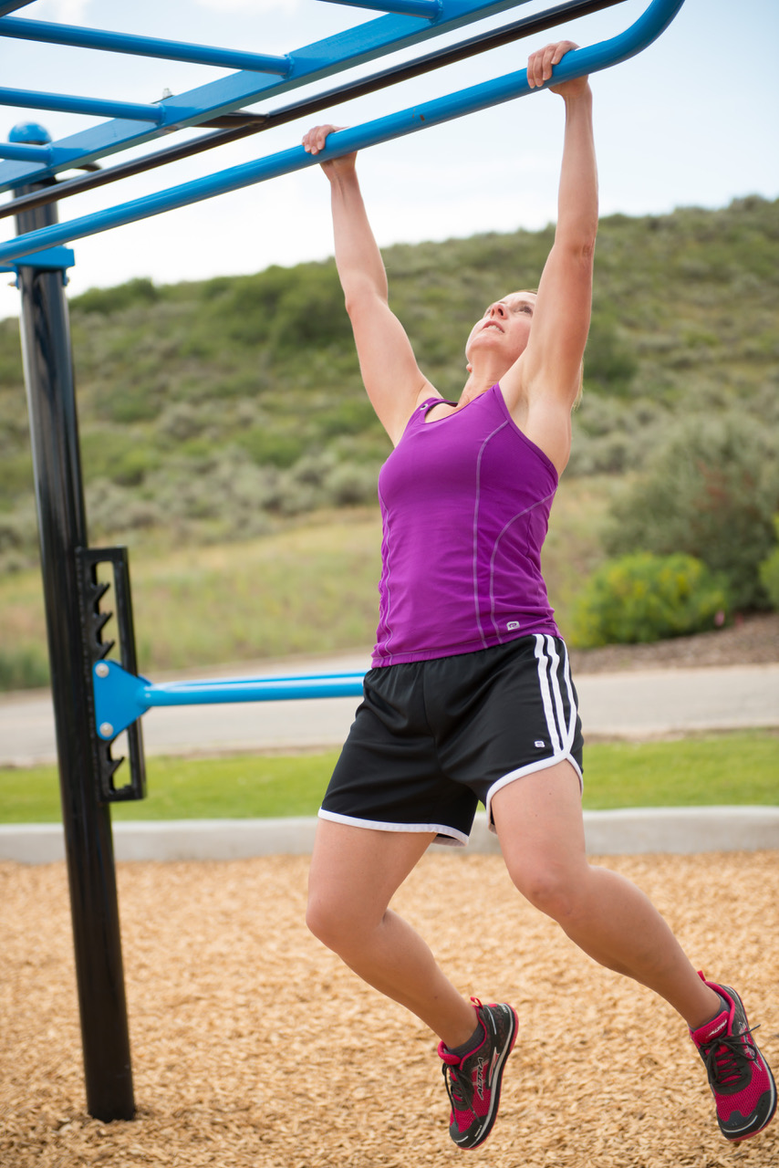 Double Monkey Bars with lower rails