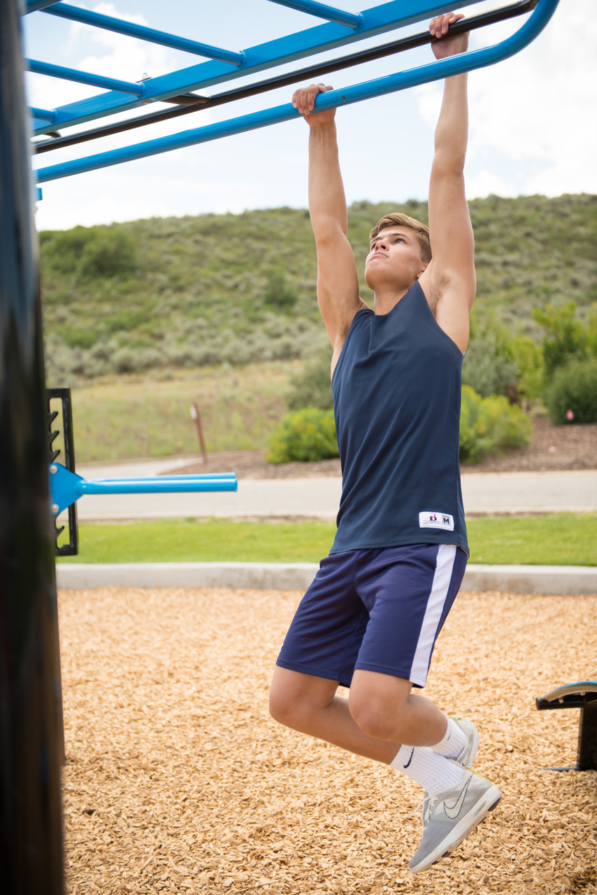 Varied height pullup bars