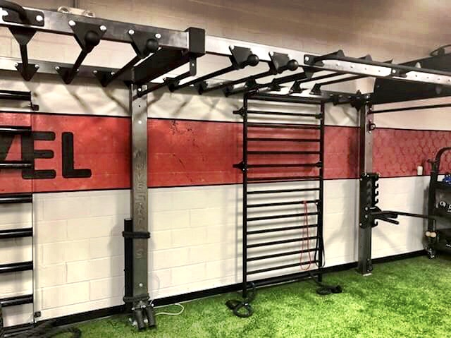 Space saving Functional Fitness Wall Bridge