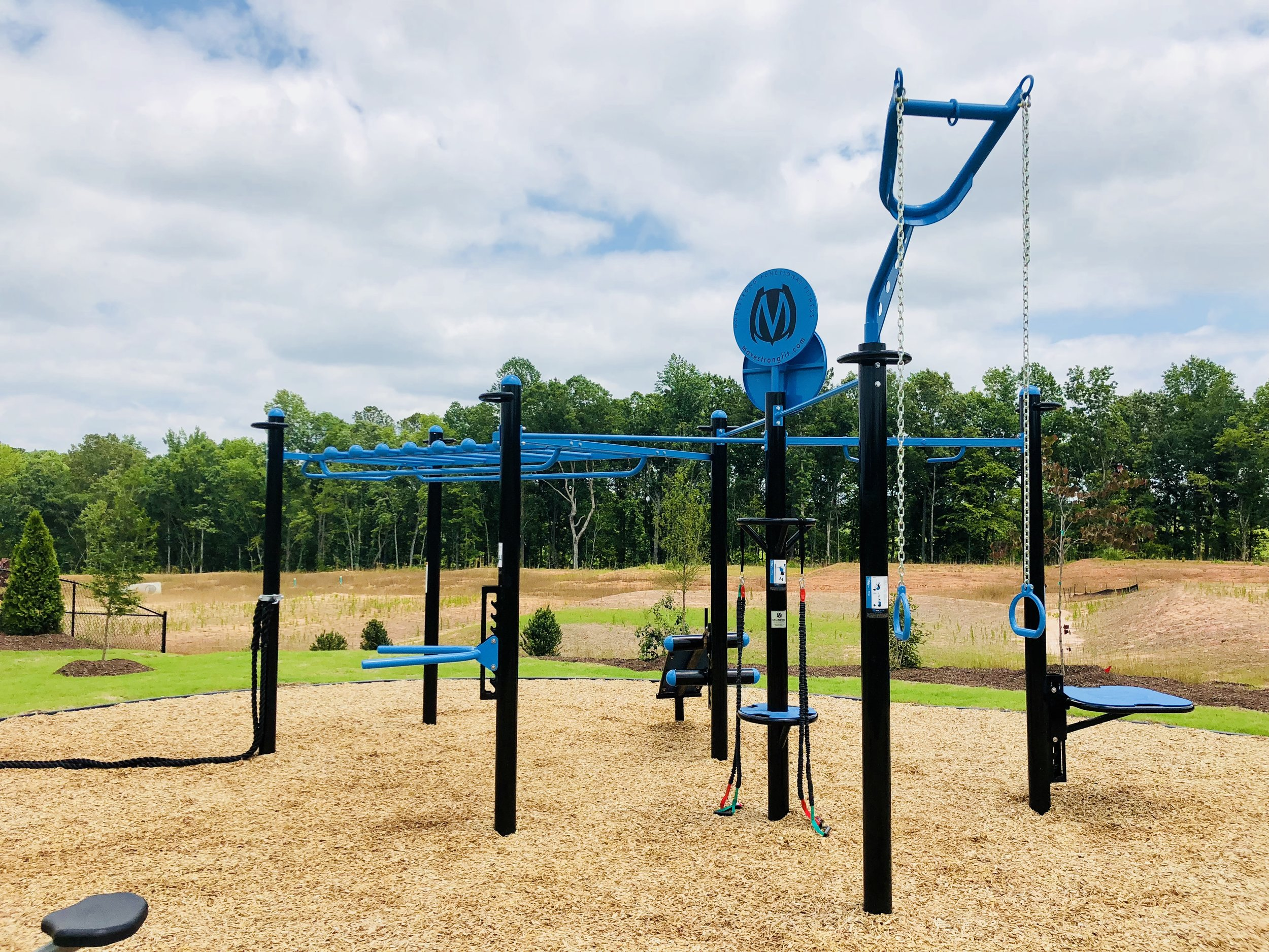 Fitness exercise for outdoor HOA amenity