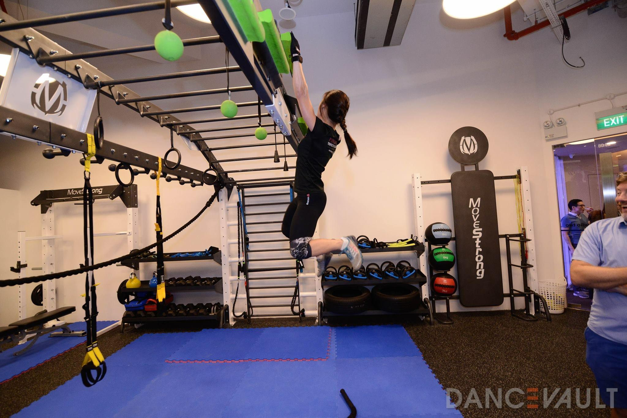 Ninja Warrior Training Obstacle