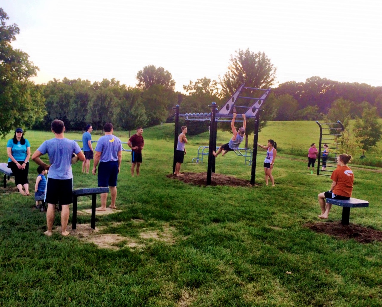 Student Recreation Fitness Classes Outdoors