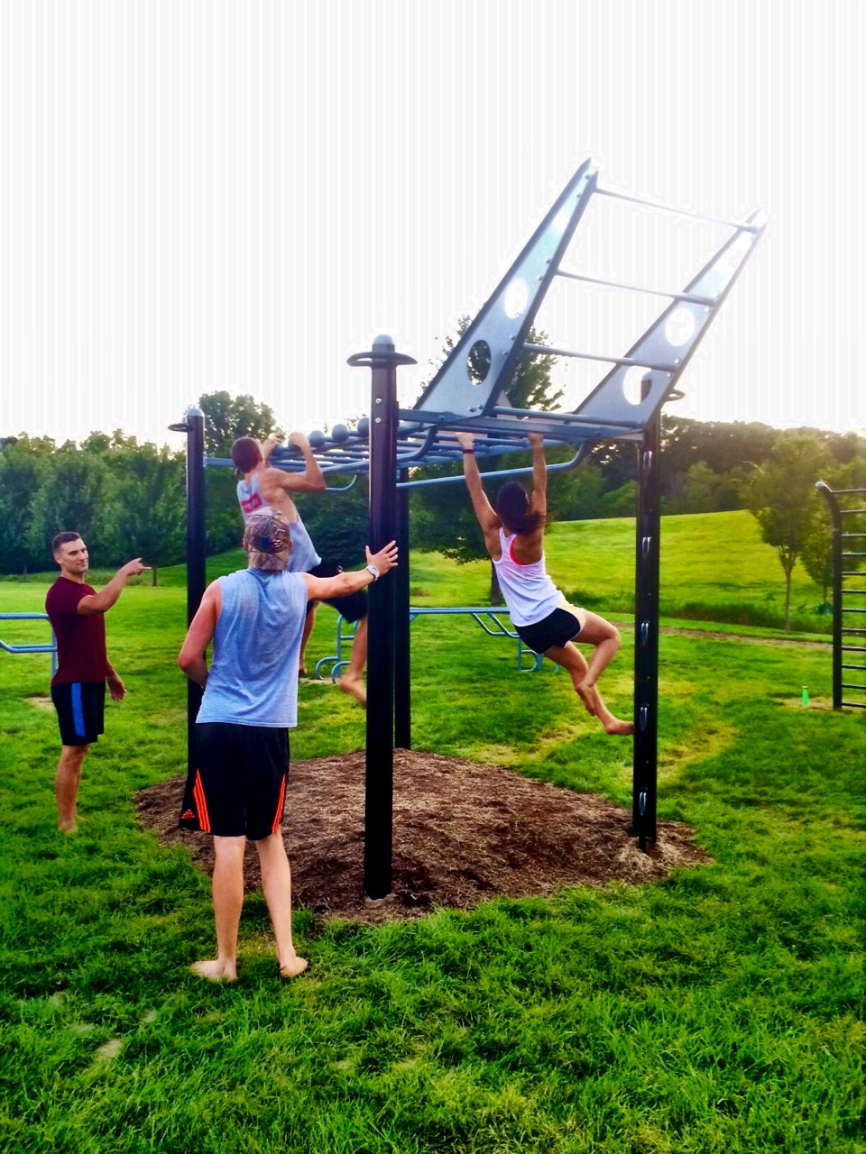 Outdoor Fitnesss Station MoveStrong T-Rex