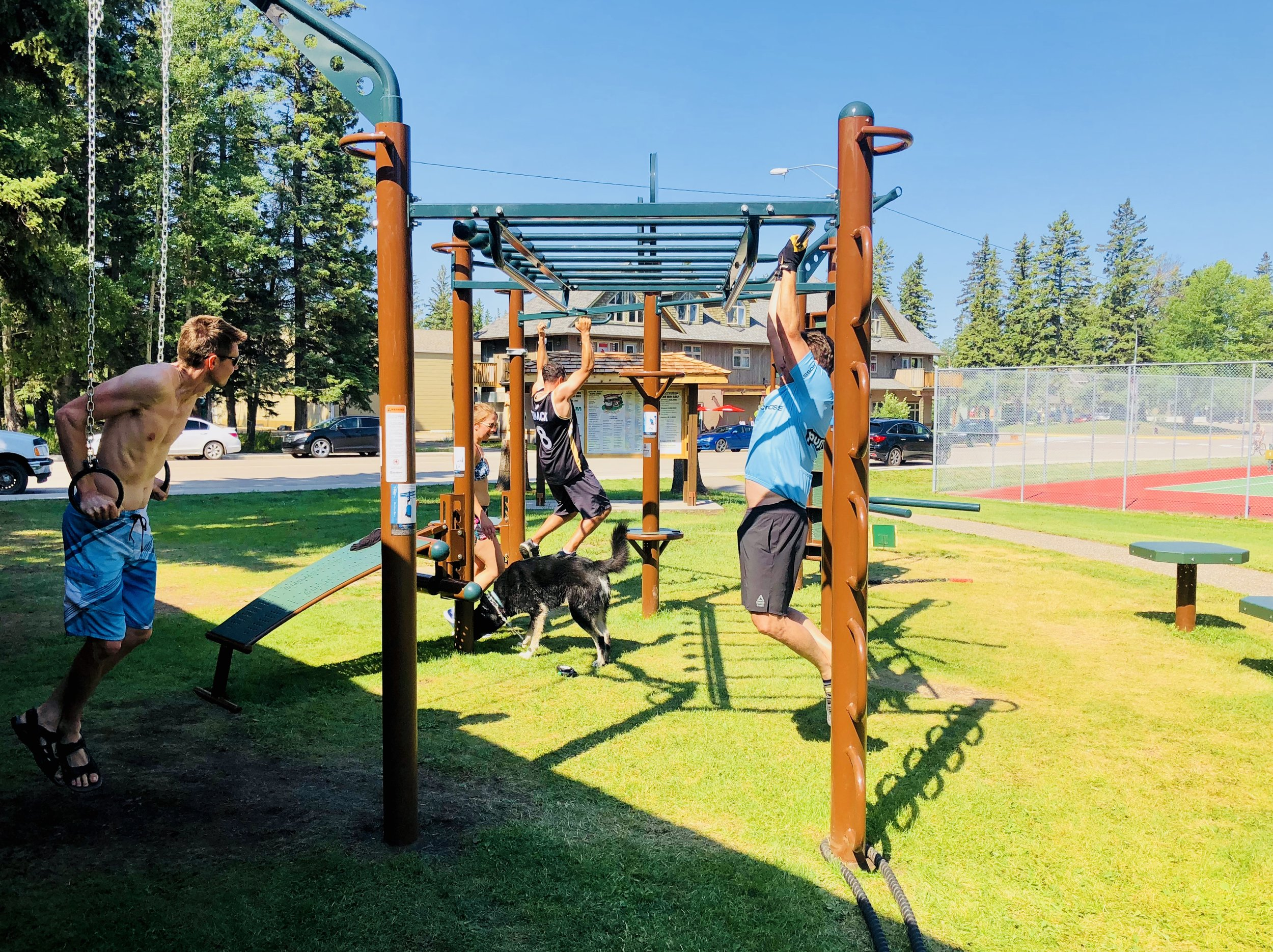 Outdoor Fitness Equipment National Park