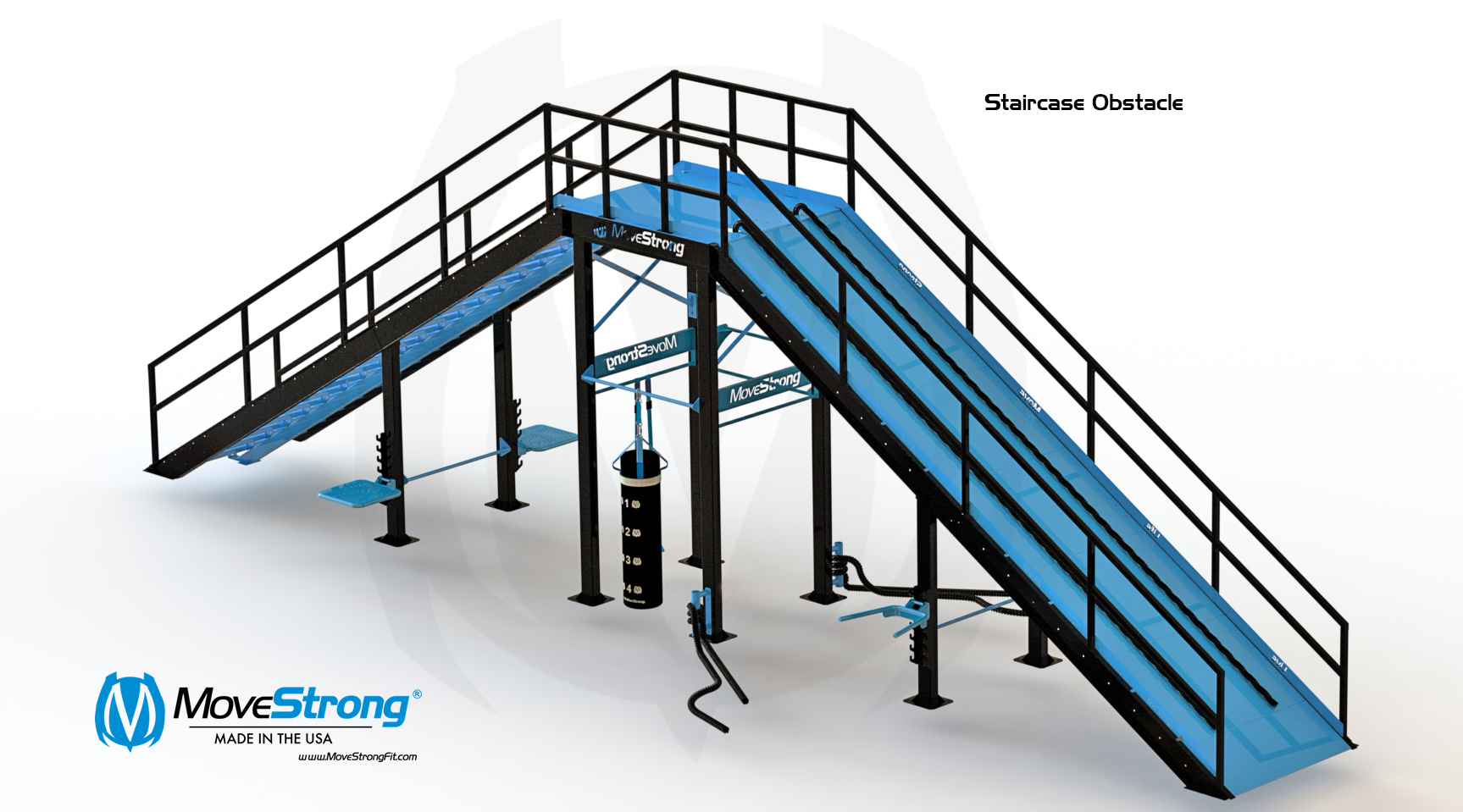 Copy of Staircase Obstacle with Ramp Challenge