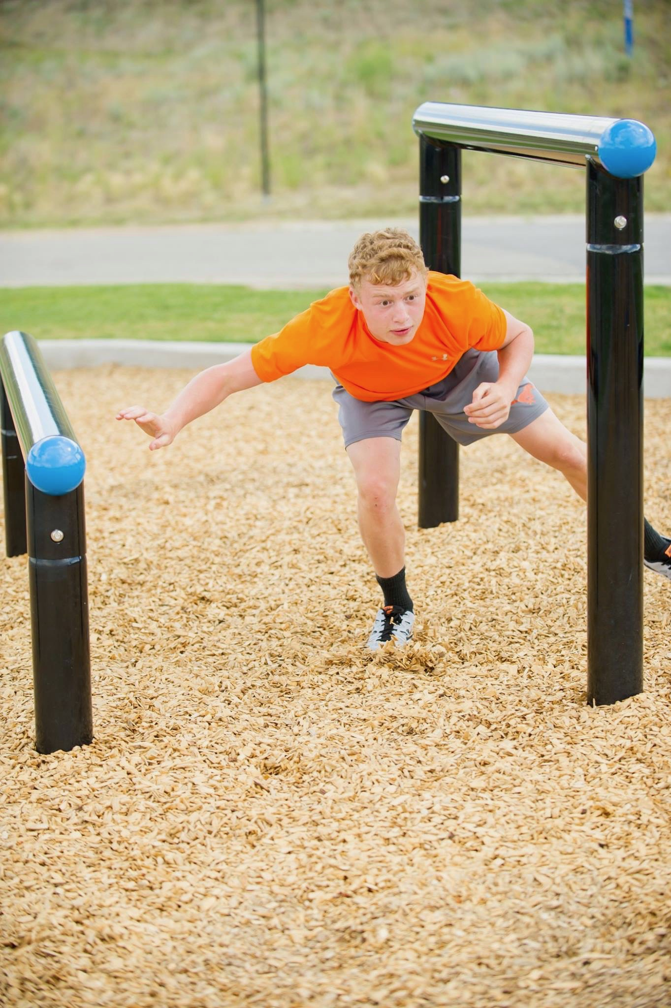 Copy of Over/Under Agility and balance obstacle