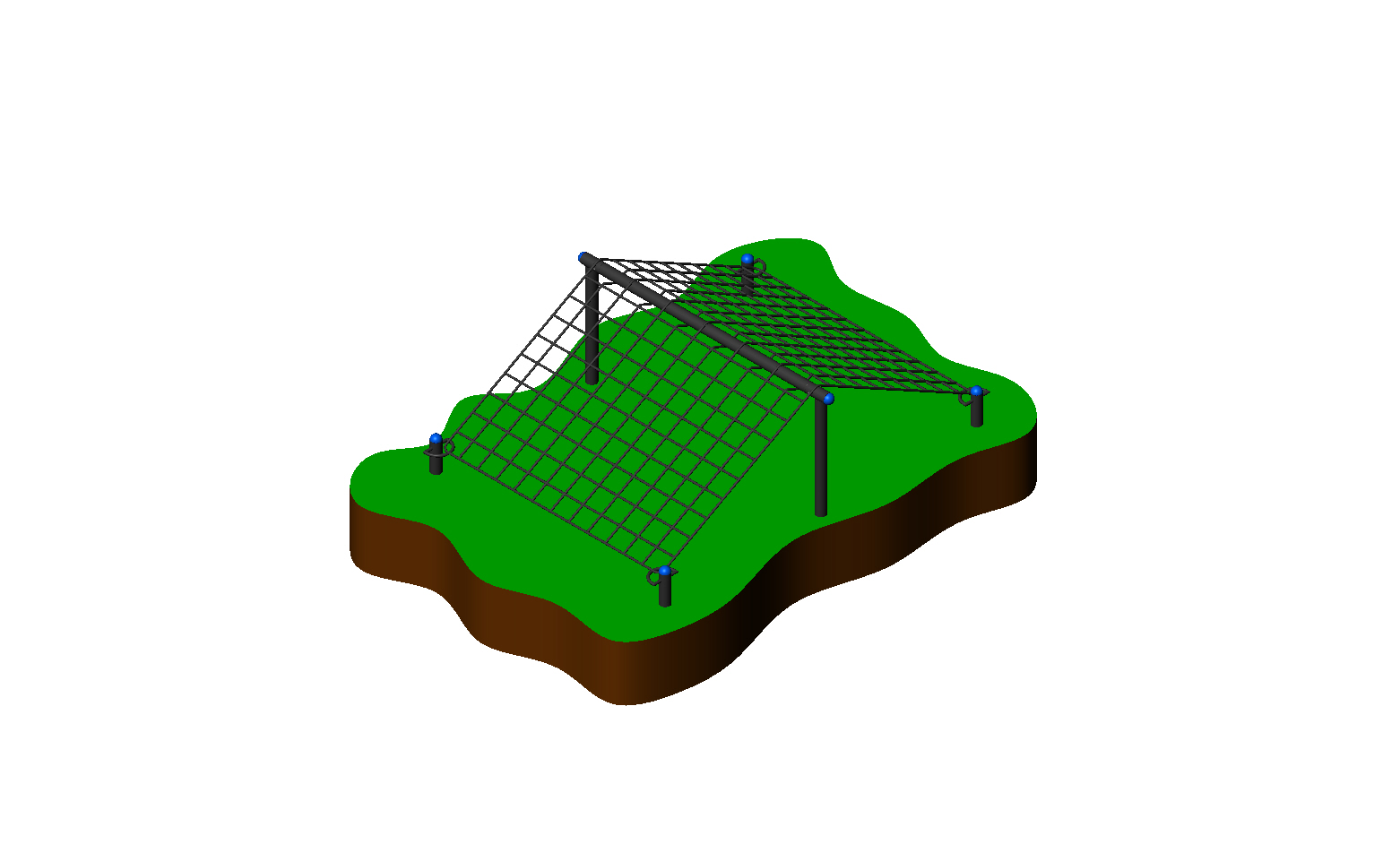 Copy of Low Angle Cargo Net
