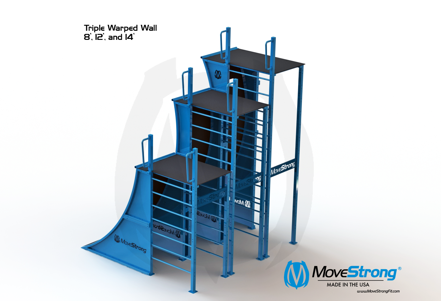 Triple Warped Wall MoveStrong