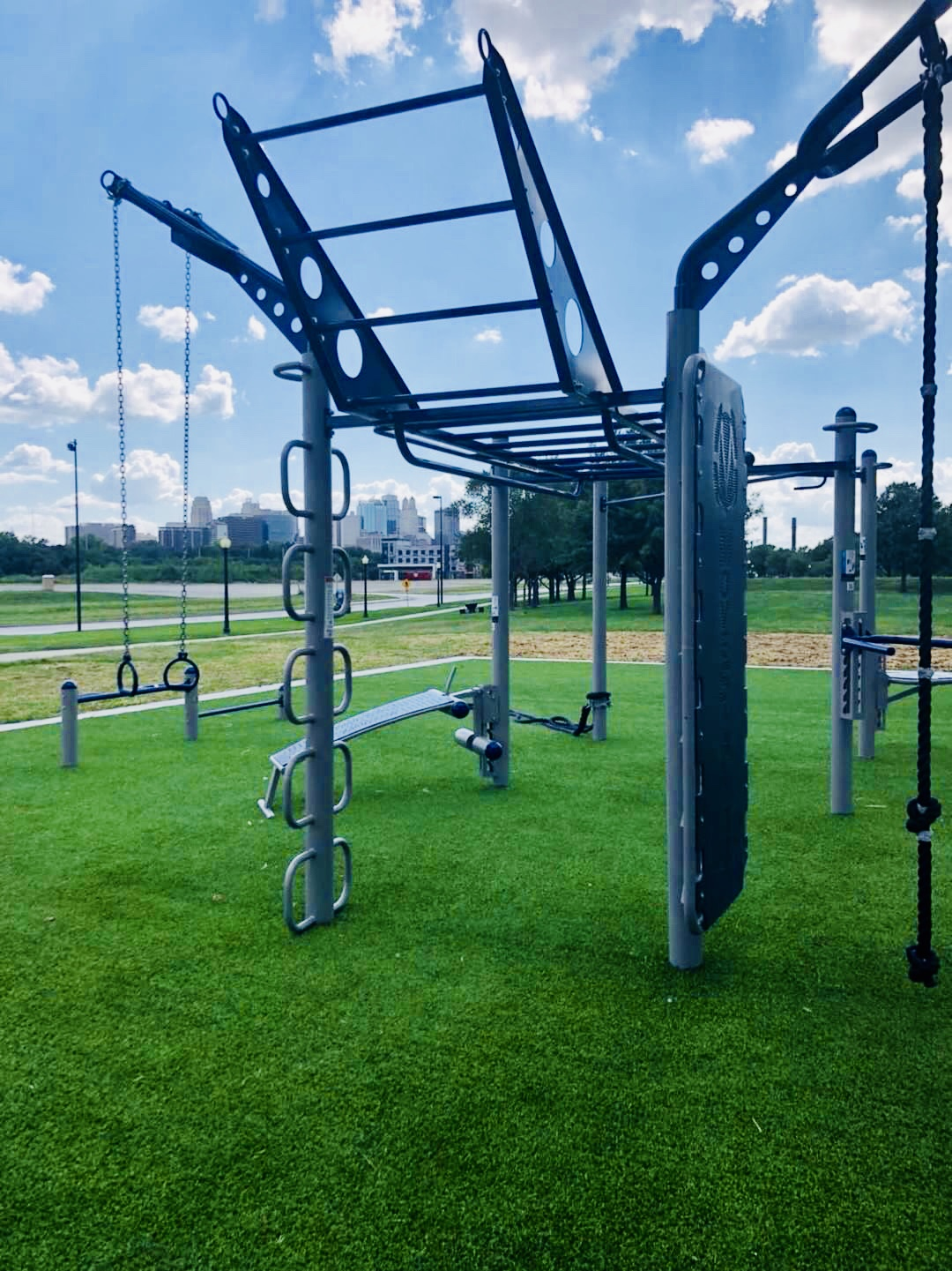MoveStrong FitGround design Outdoor Fitness