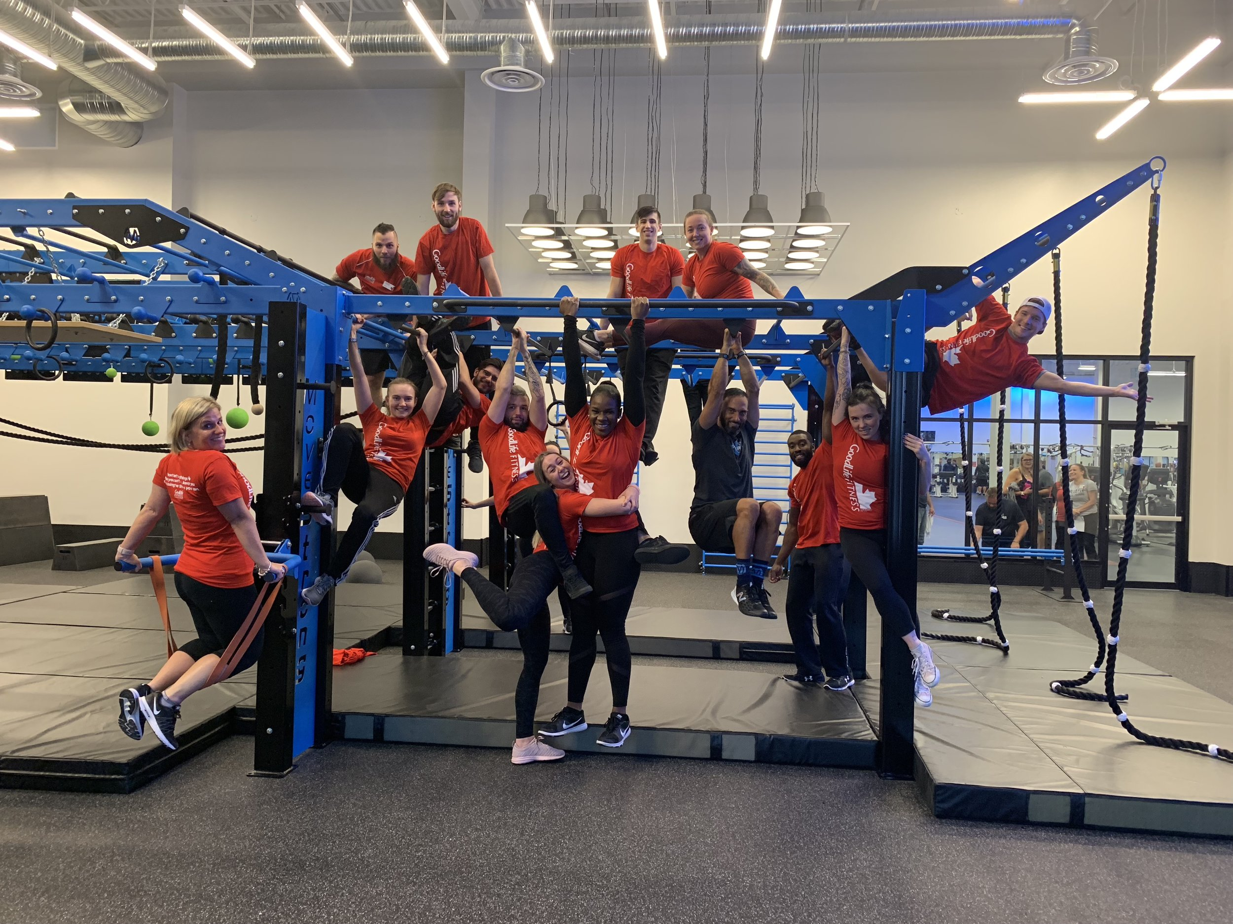 Workshop for MoveStrong obstacle course and ninja warrior training