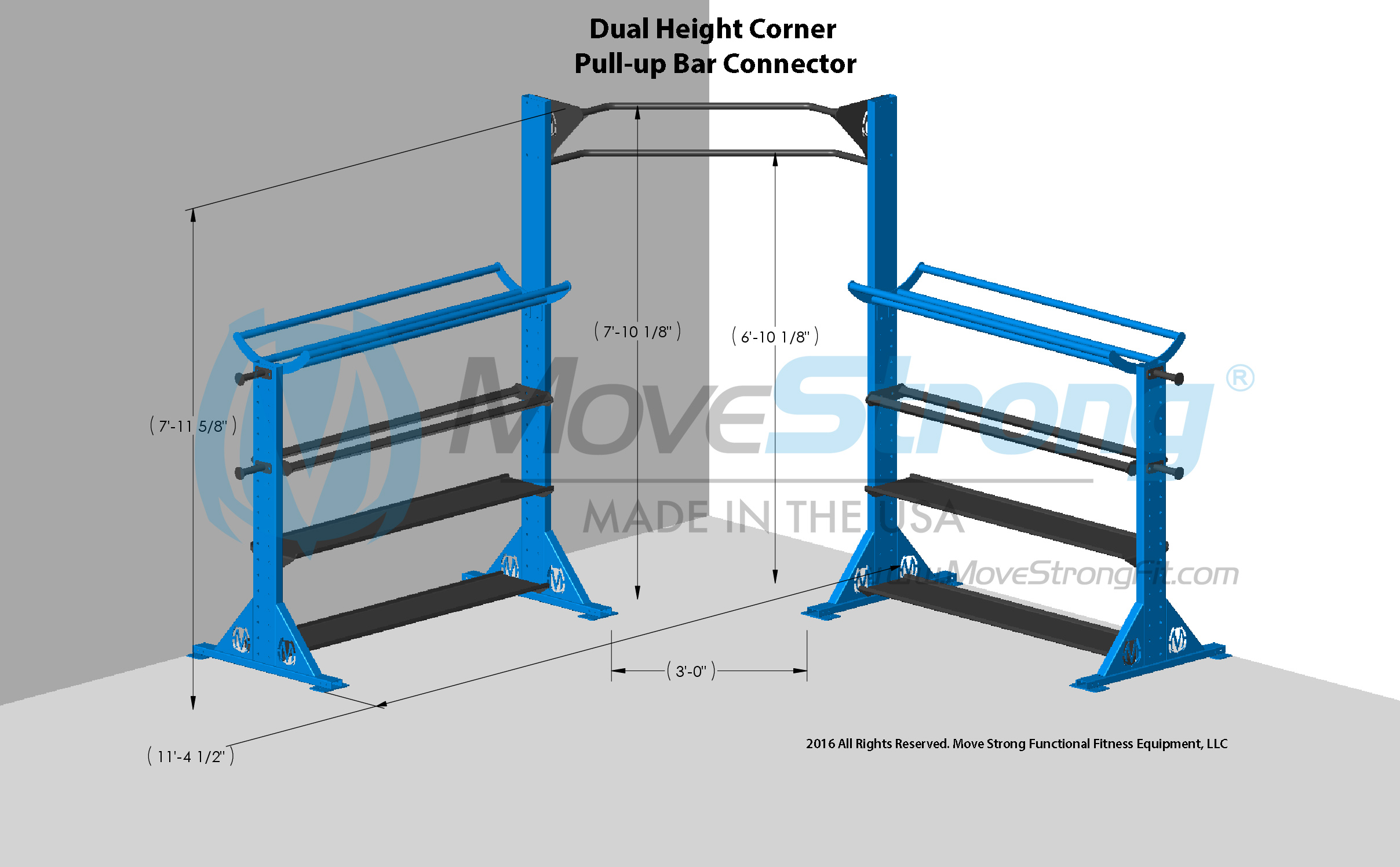 CORNER WALL PLACEMENT OPTION