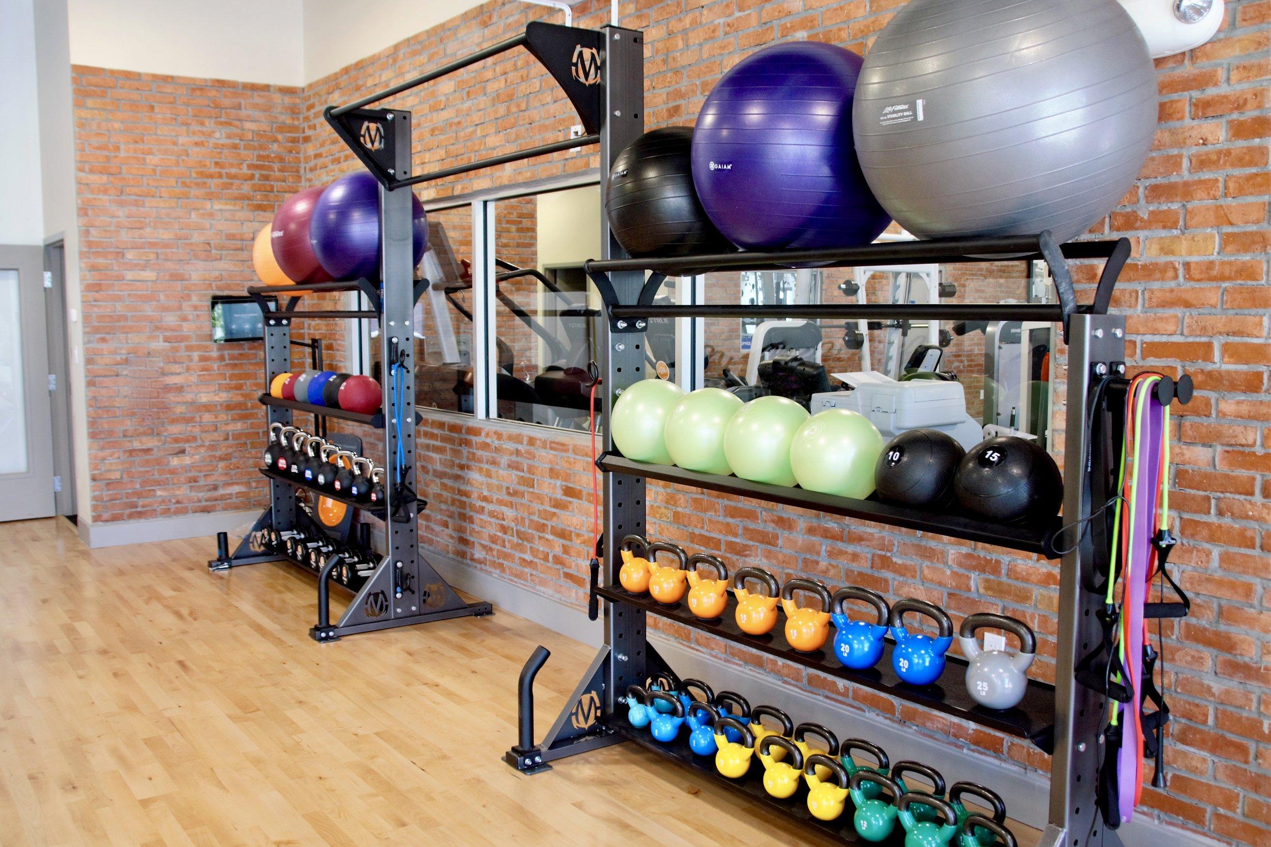Fitness gym storage rack Move Strong studio