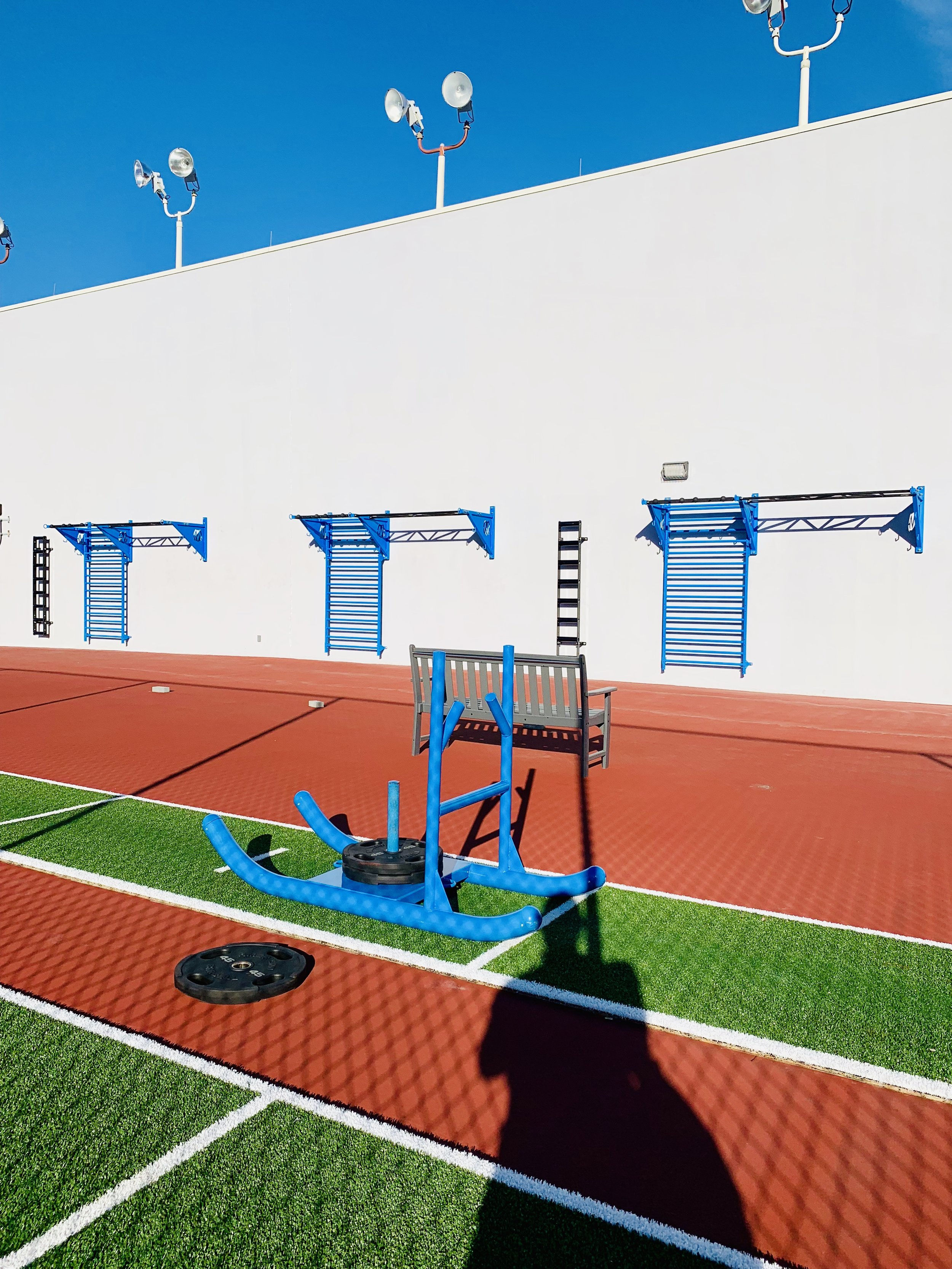 Functional Training workout area rooftop
