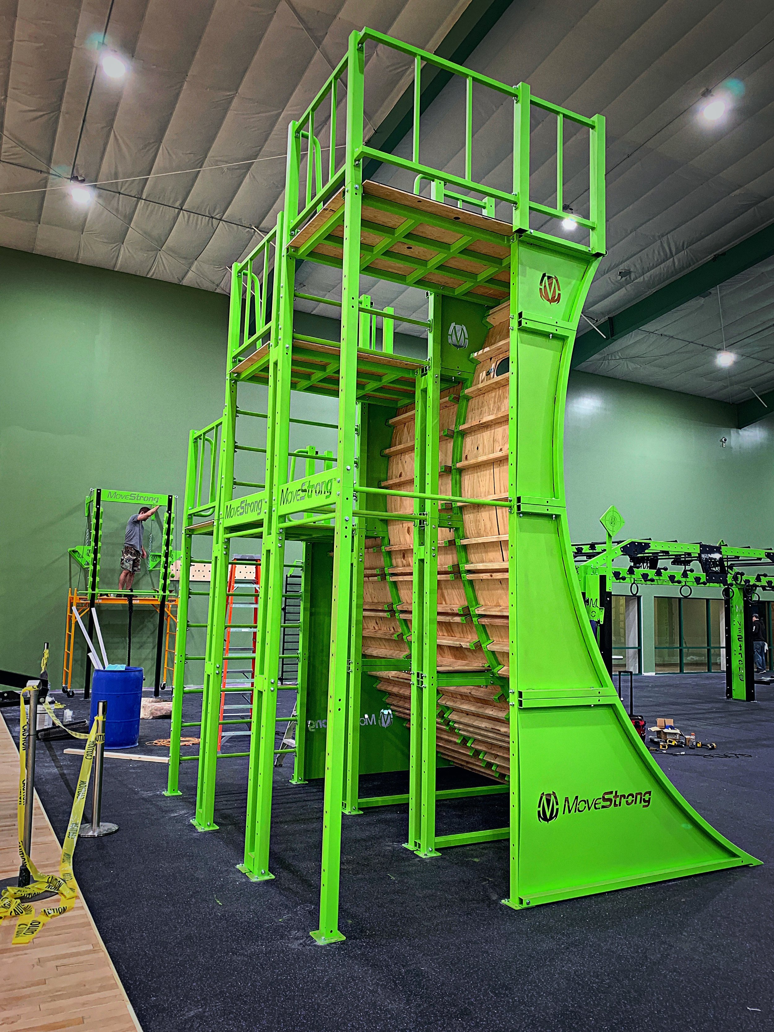 Warped Wall Backside Training Options