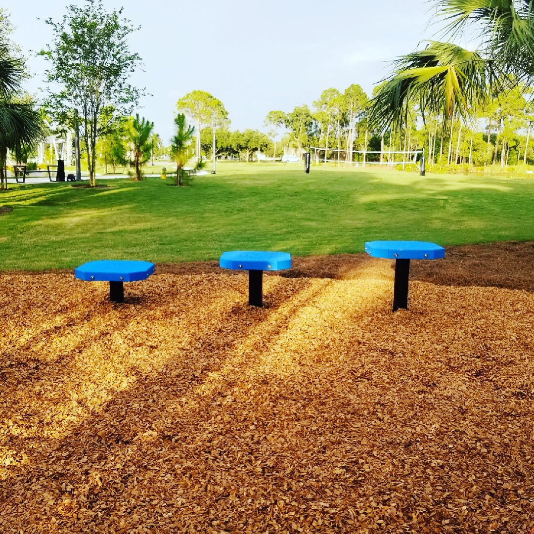 Outdoor Plyo Steps