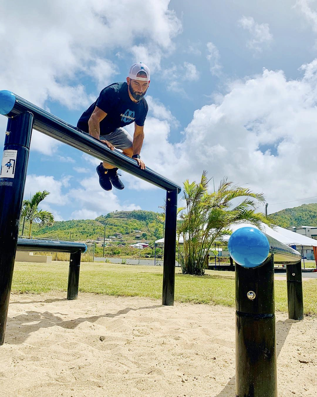 St. Lucia Outdoor Fitness Park