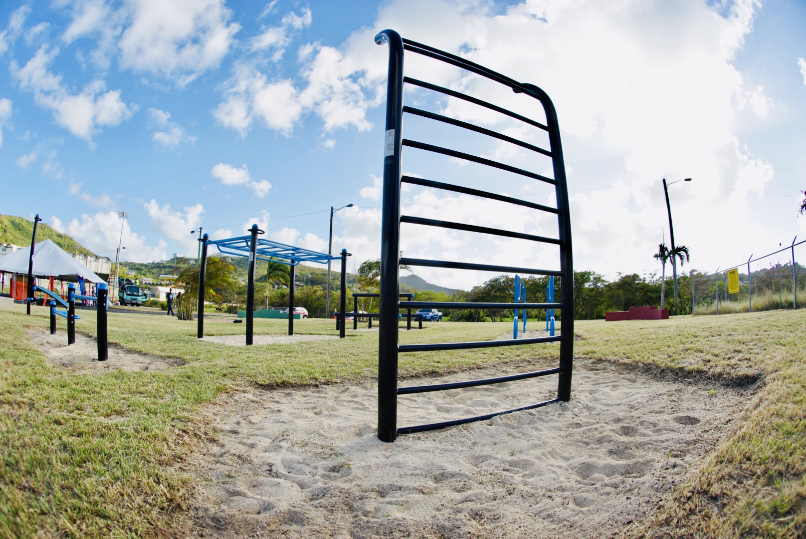 Calisthenic parks outdoor gym Caribbean MoveStrong