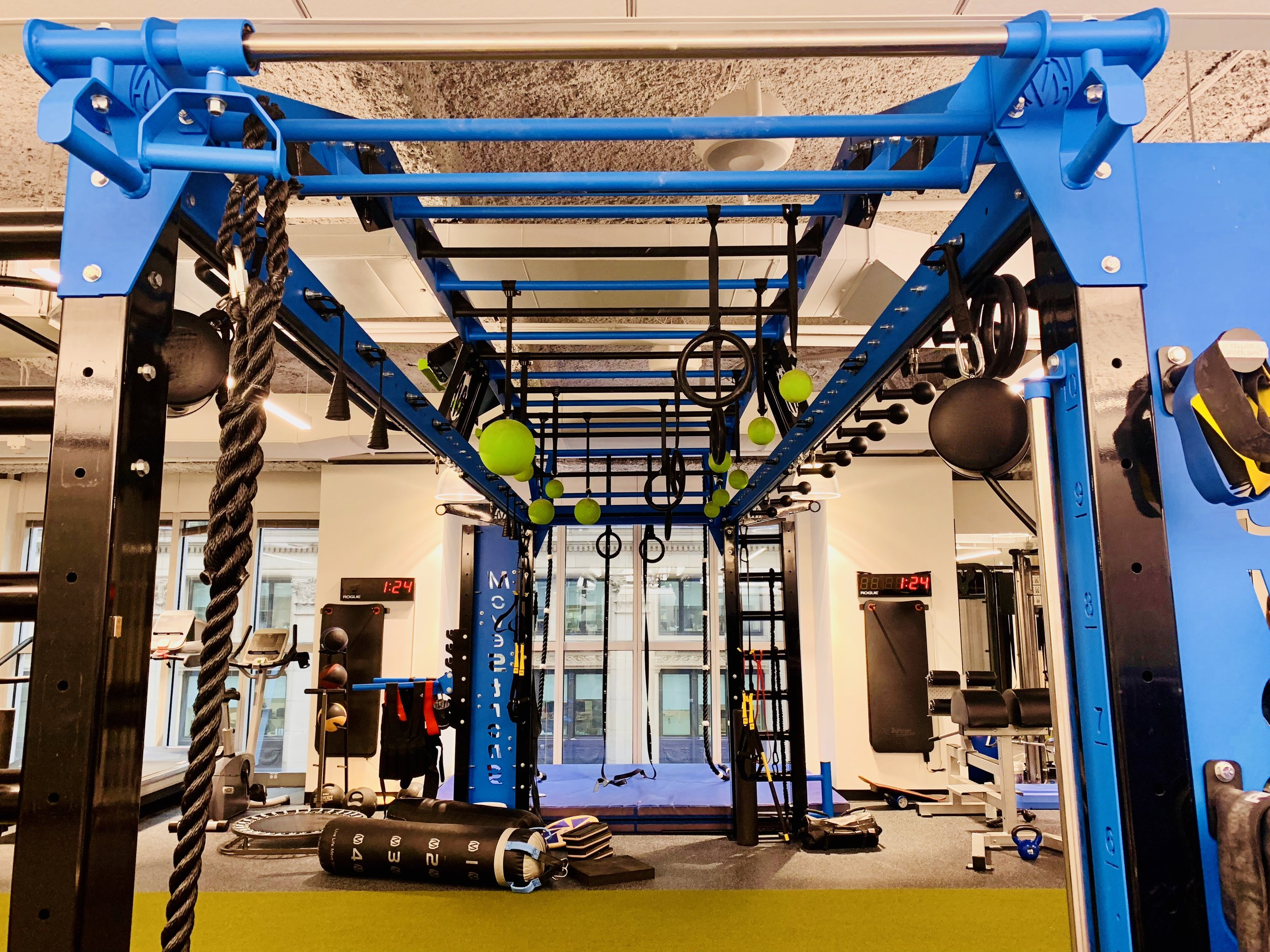 Monkey bar design MoveSTrong Nova XL