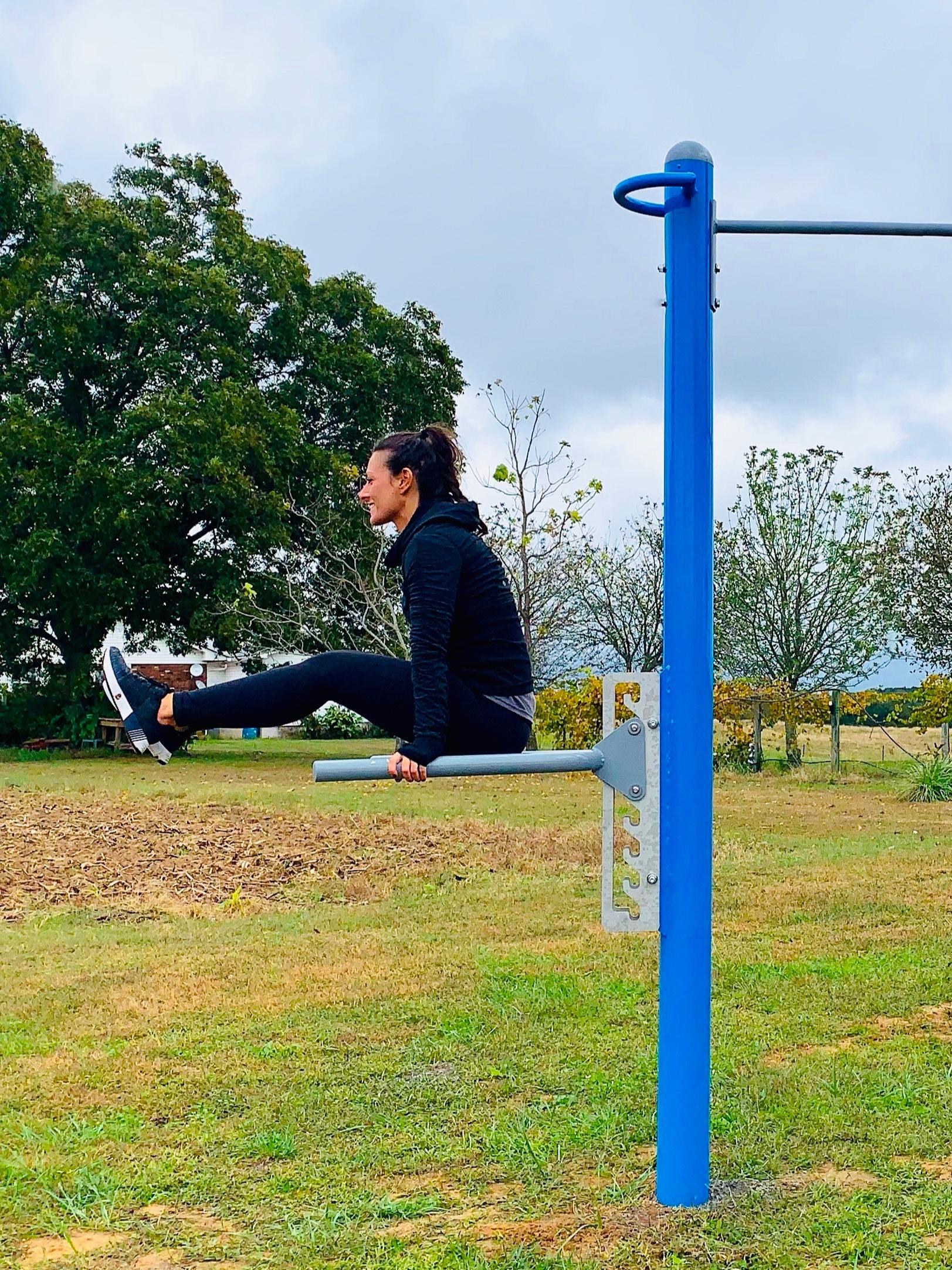 Dip Leg raise Outdoor Fitness Equipment