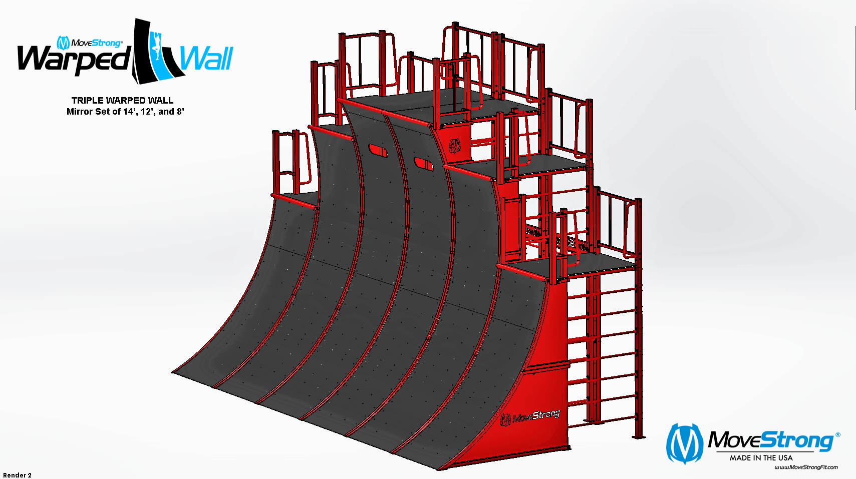 Six Warped Walls Modular Design
